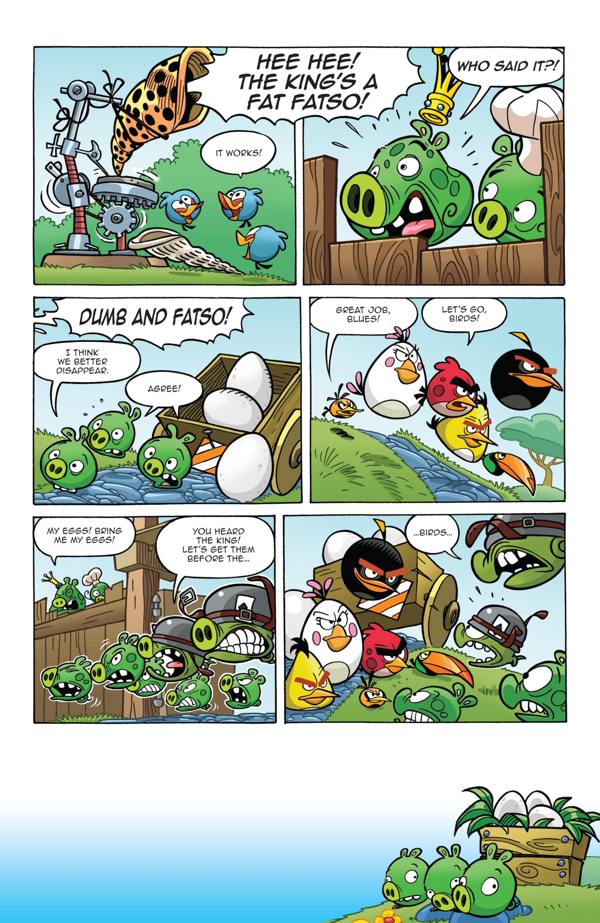 Read online Angry Birds Comics (2014) comic -  Issue #7 - 13