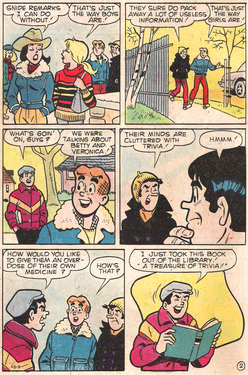 Read online Archie's Girls Betty and Veronica comic -  Issue #279 - 4