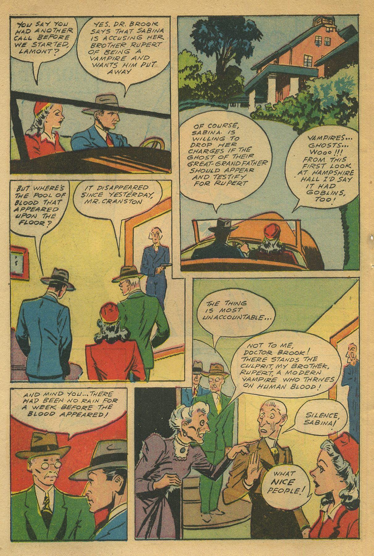 Read online Shadow Comics comic -  Issue #49 - 44