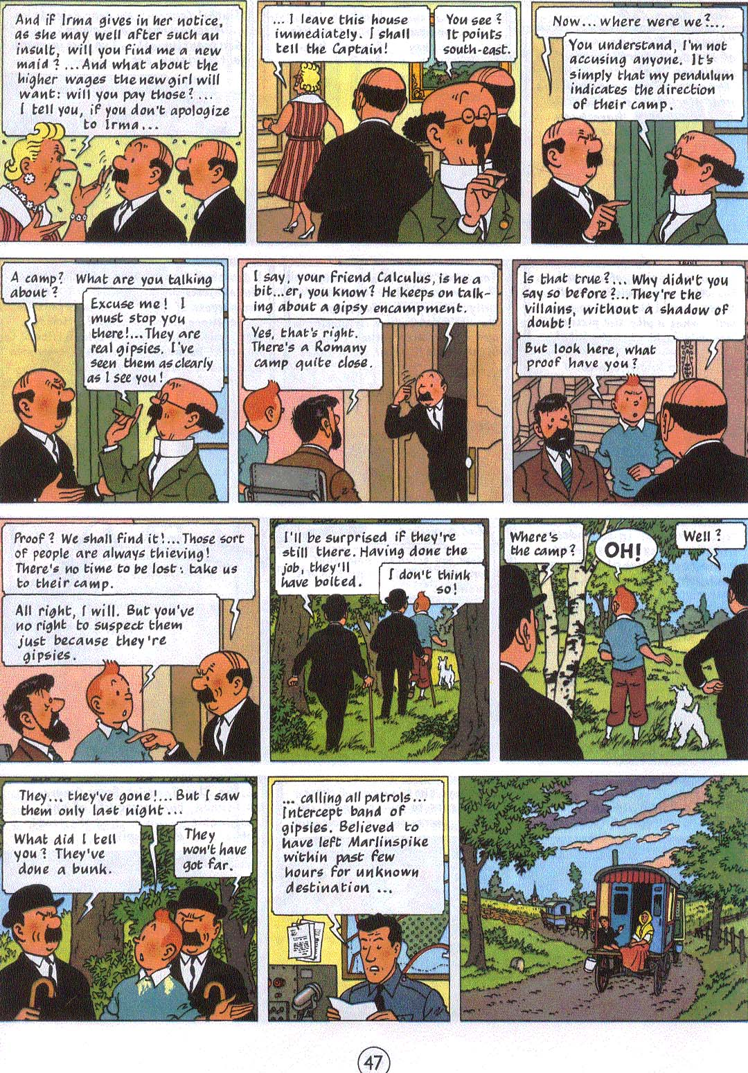Comic The Adventures of Tintin issue 21