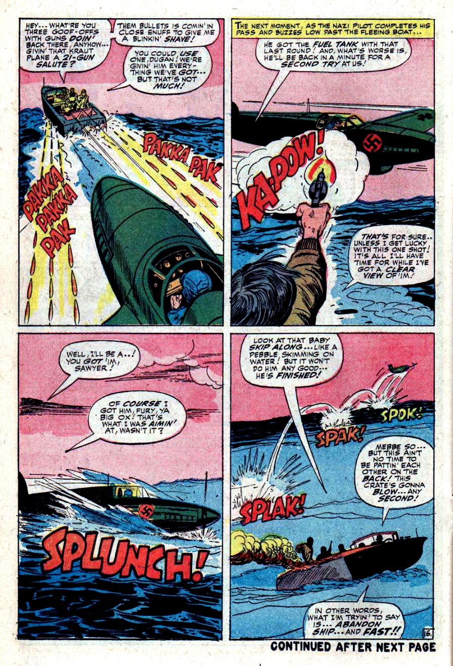Read online Sgt. Fury comic -  Issue #34 - 22