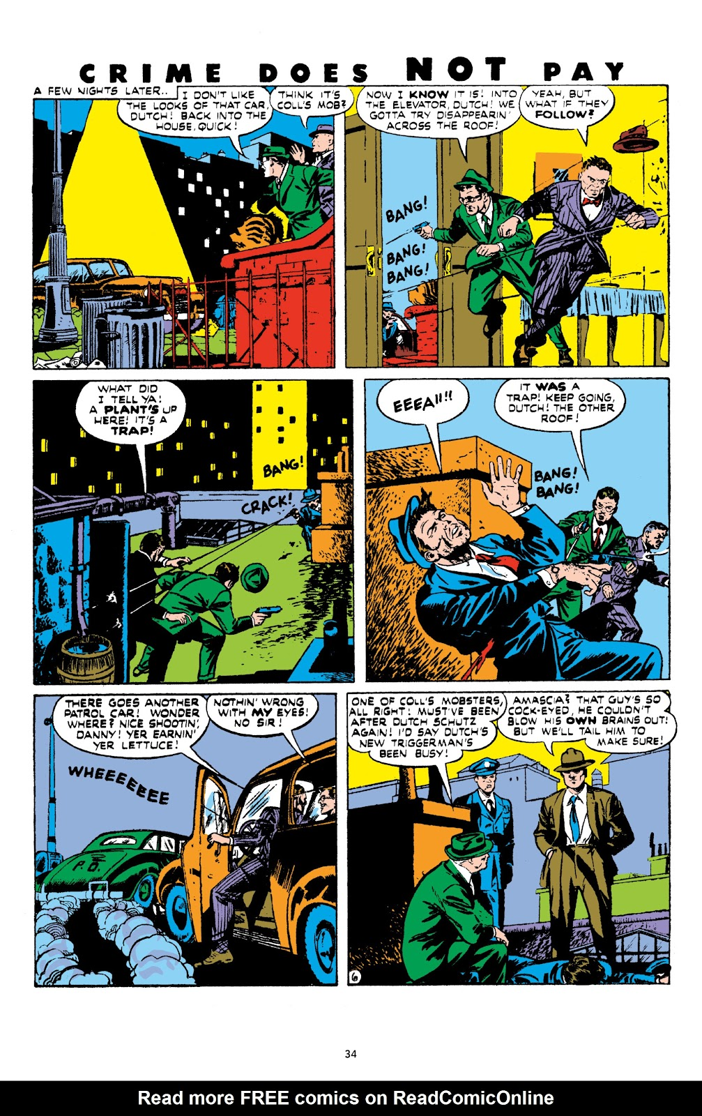 Read online Crime Does Not Pay Archives comic -  Issue # TPB 8 (Part 1) - 36
