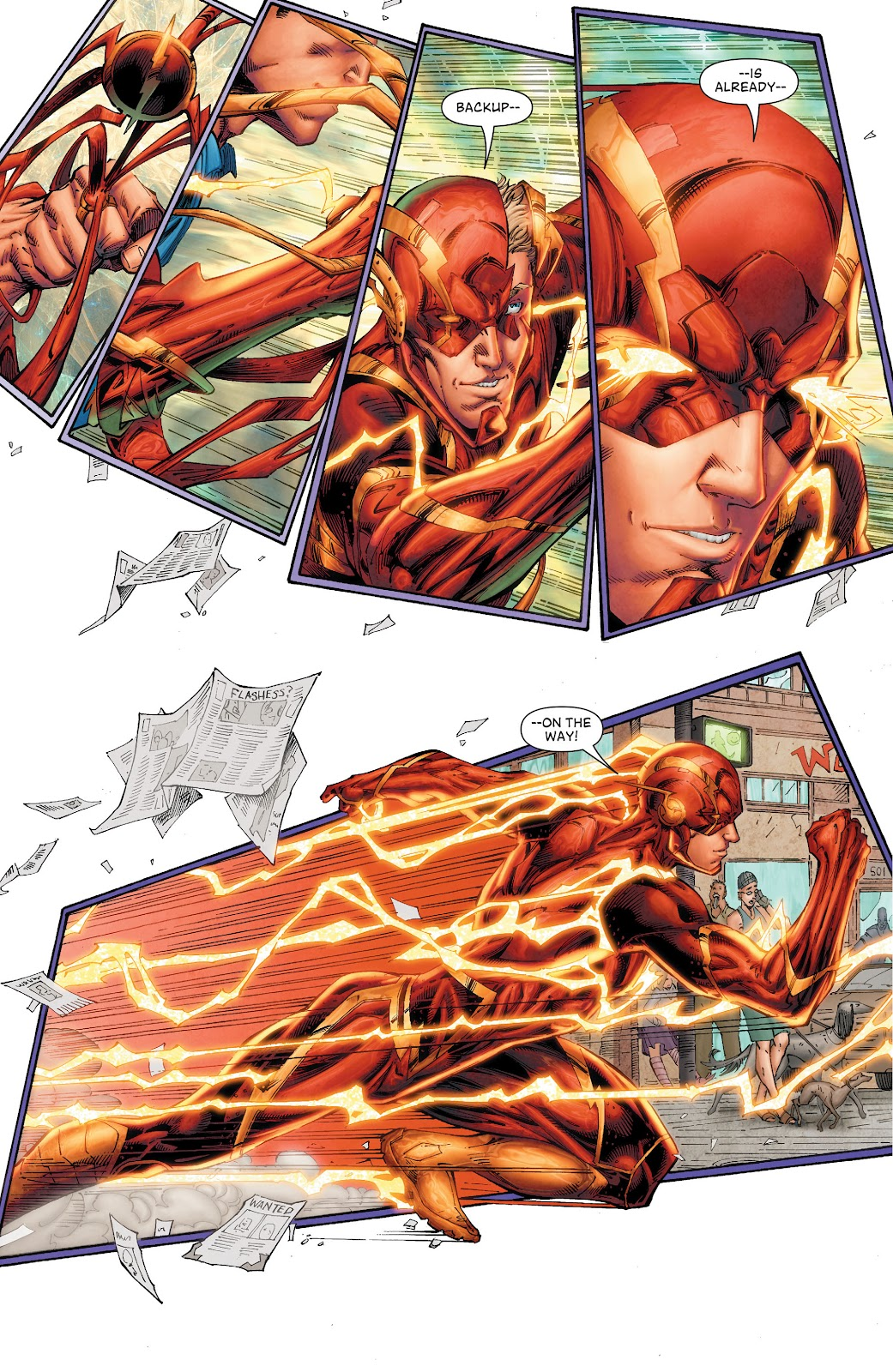 Read online The Flash (2011) comic -  Issue # _TPB 8 (Part 1) - 18