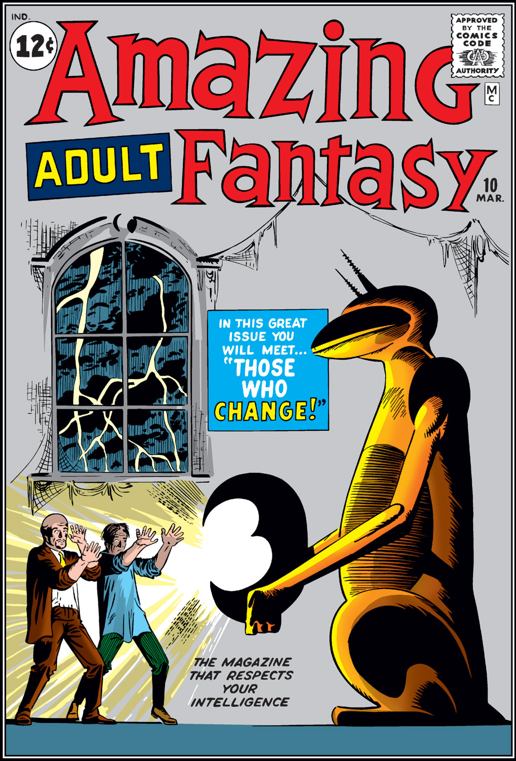 Read online Amazing Adult Fantasy comic -  Issue #10 - 1