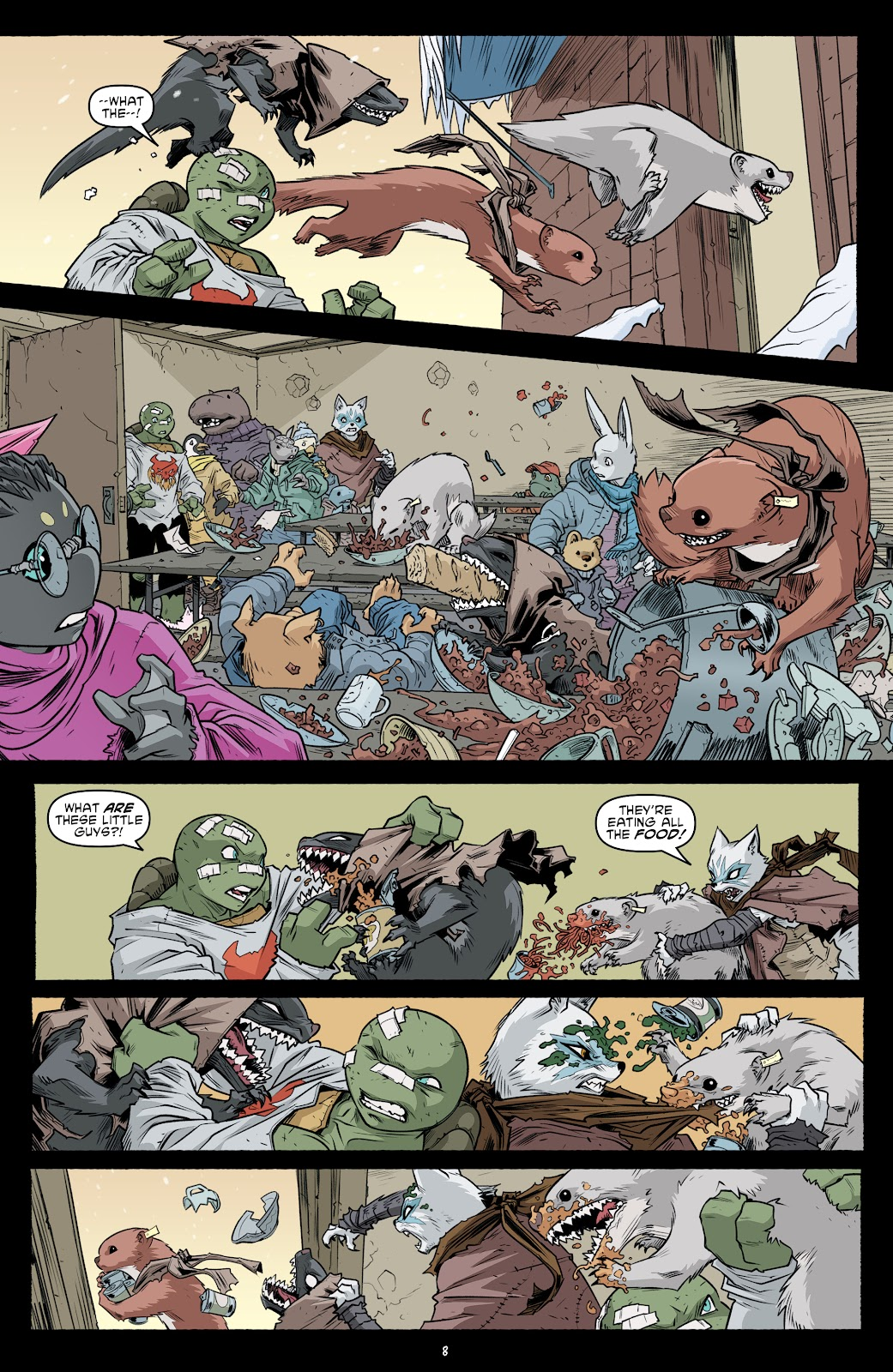 Read online Teenage Mutant Ninja Turtles (2011) comic -  Issue #103 - 10