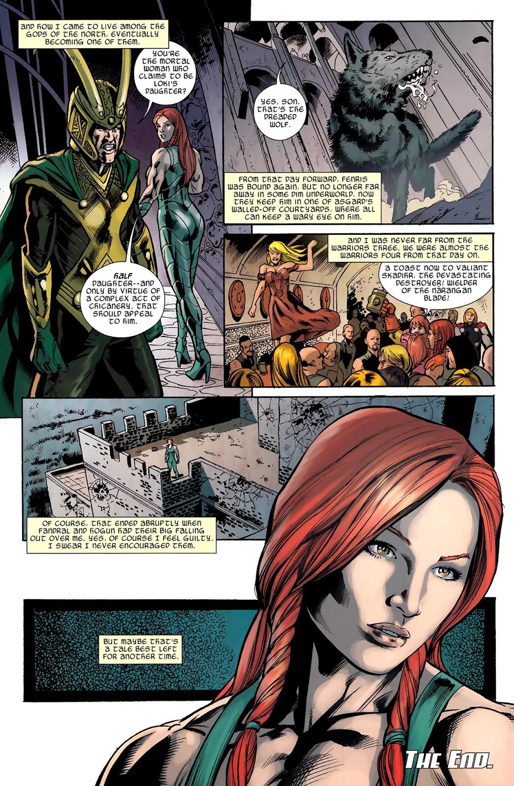 Warriors Three Issue #4 #4 - English 23