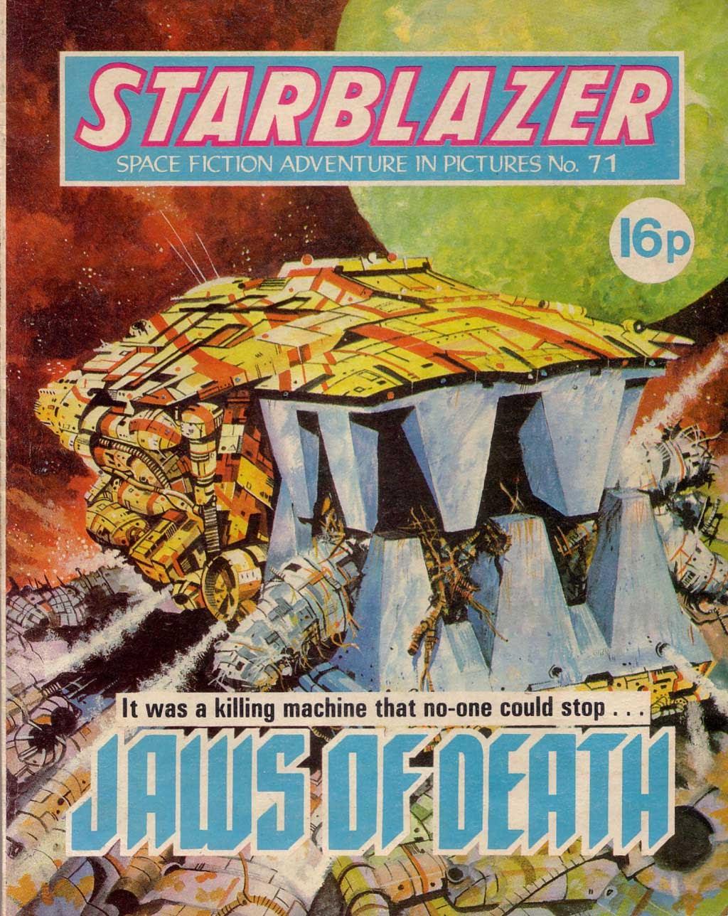 Starblazer issue 71 - Page 1