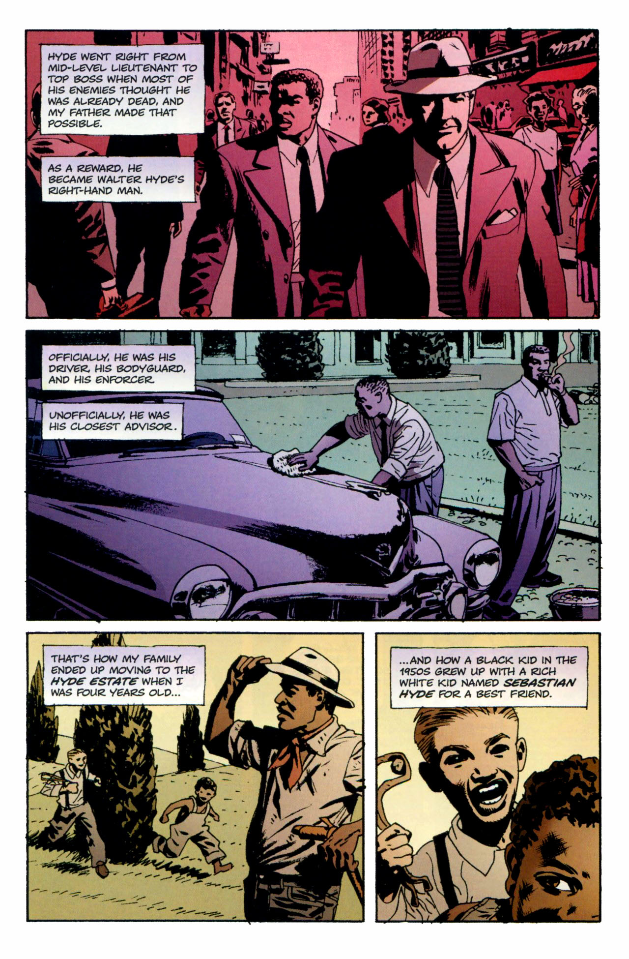 Read online Criminal (2008) comic -  Issue #1 - 6