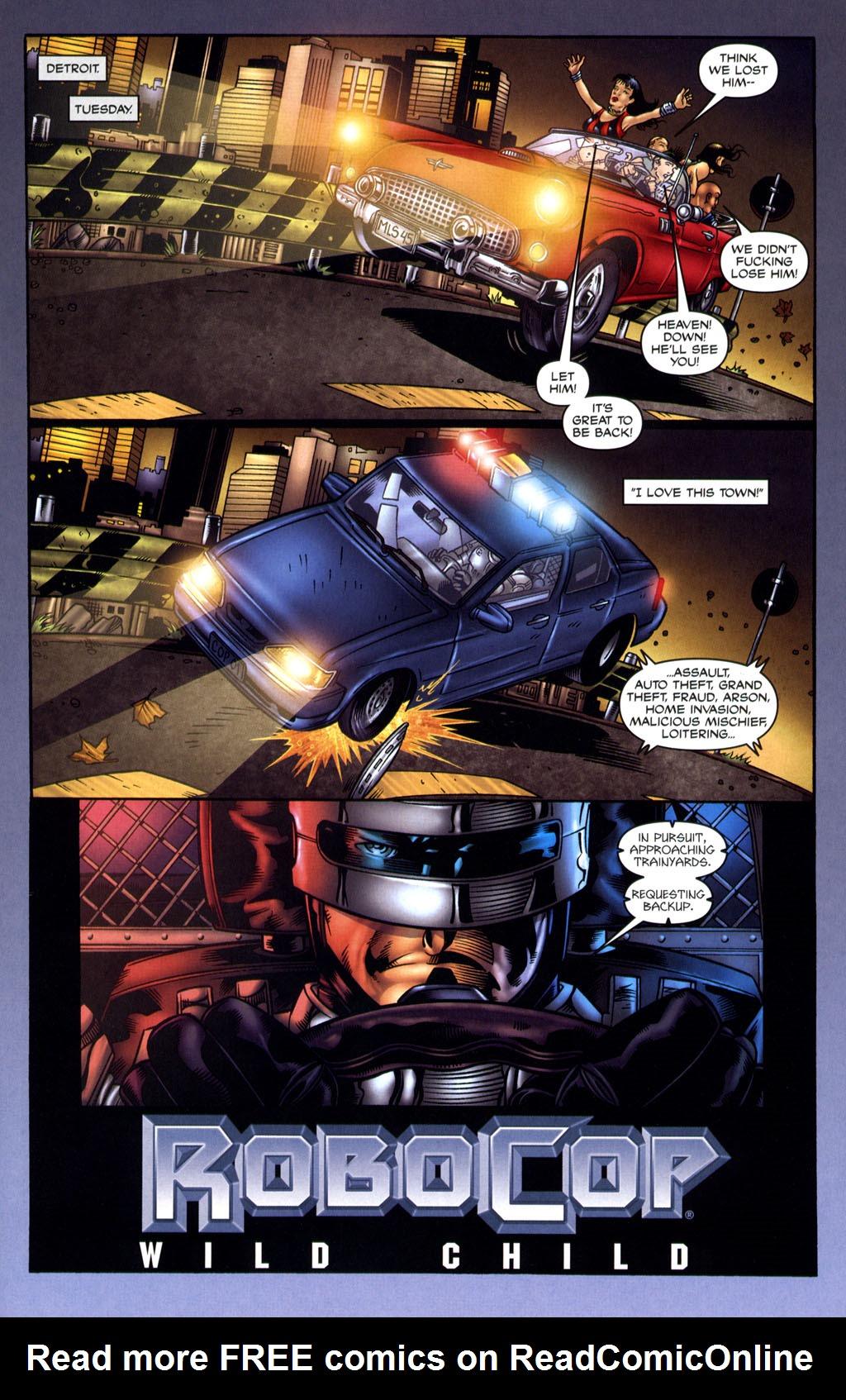 Read online Robocop: Wild Child comic -  Issue # Full - 5