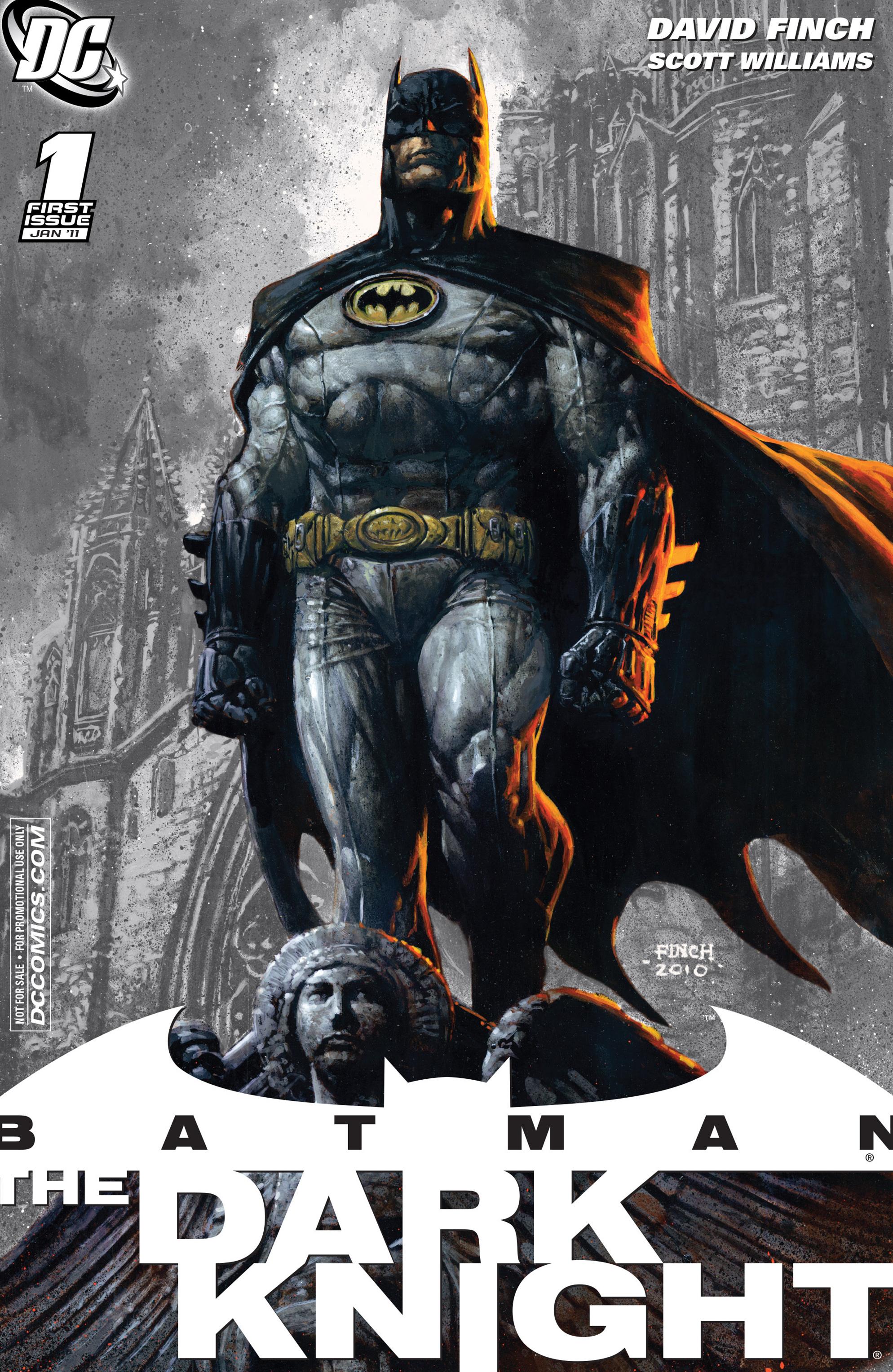 Batman: The Dark Knight [I] (2011) 1 Page 1