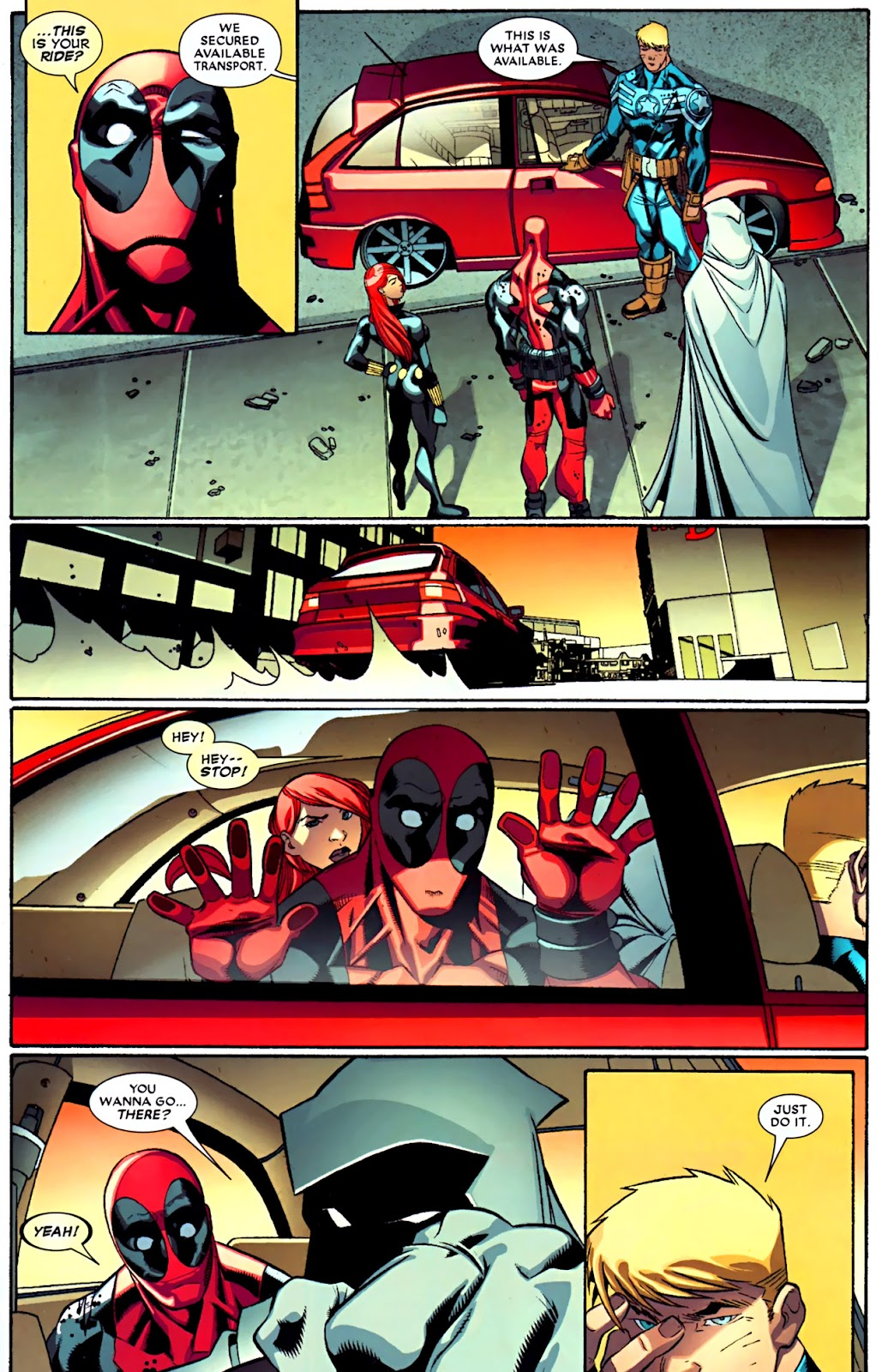 Read online Deadpool (2008) comic -  Issue #29 - 9