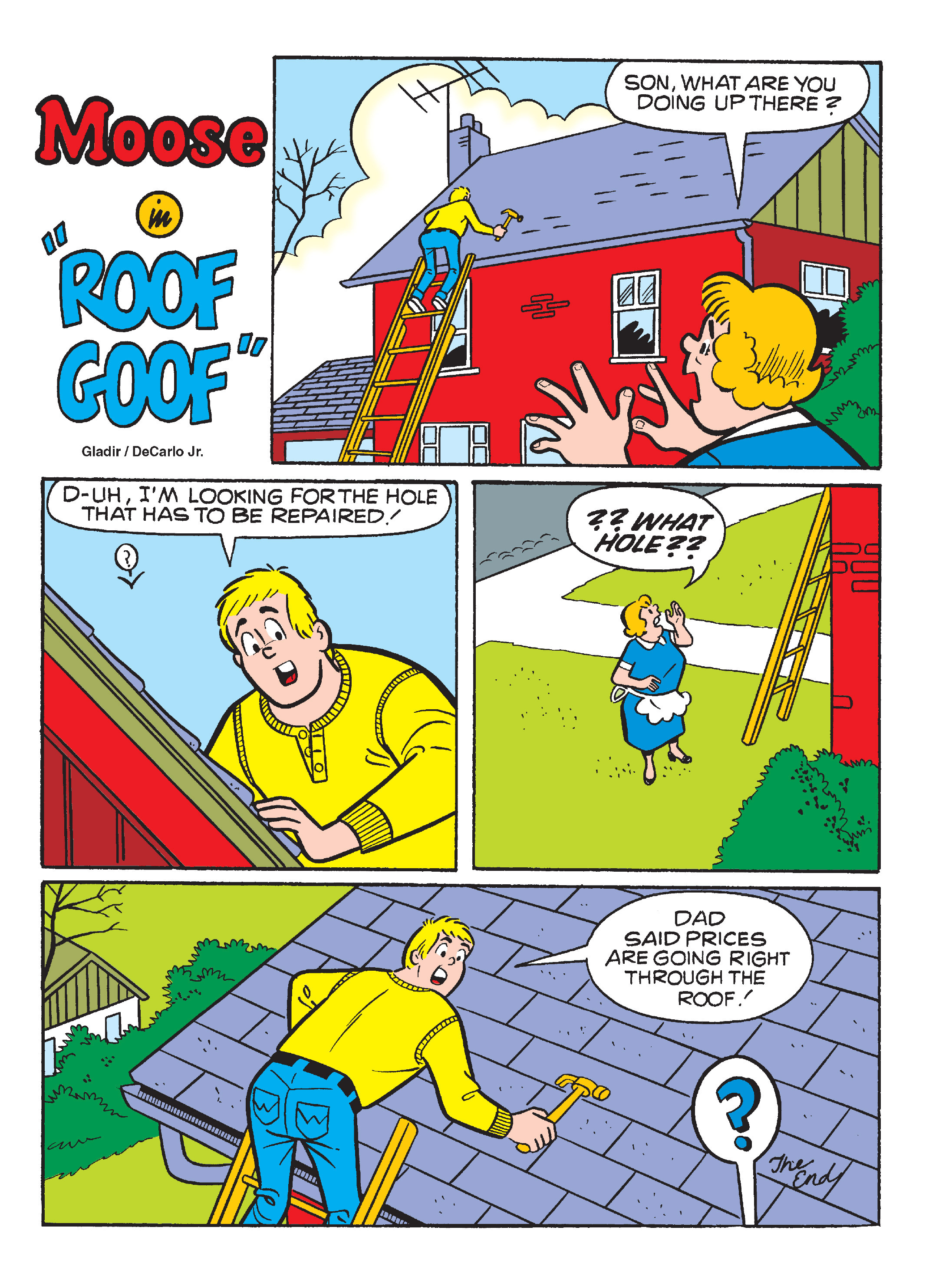 Read online Archie's Funhouse Double Digest comic -  Issue #13 - 139