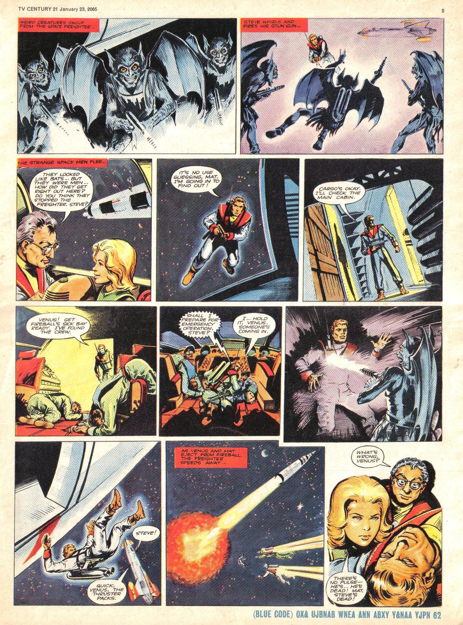 Read online TV Century 21 (TV 21) comic -  Issue #1 - 5