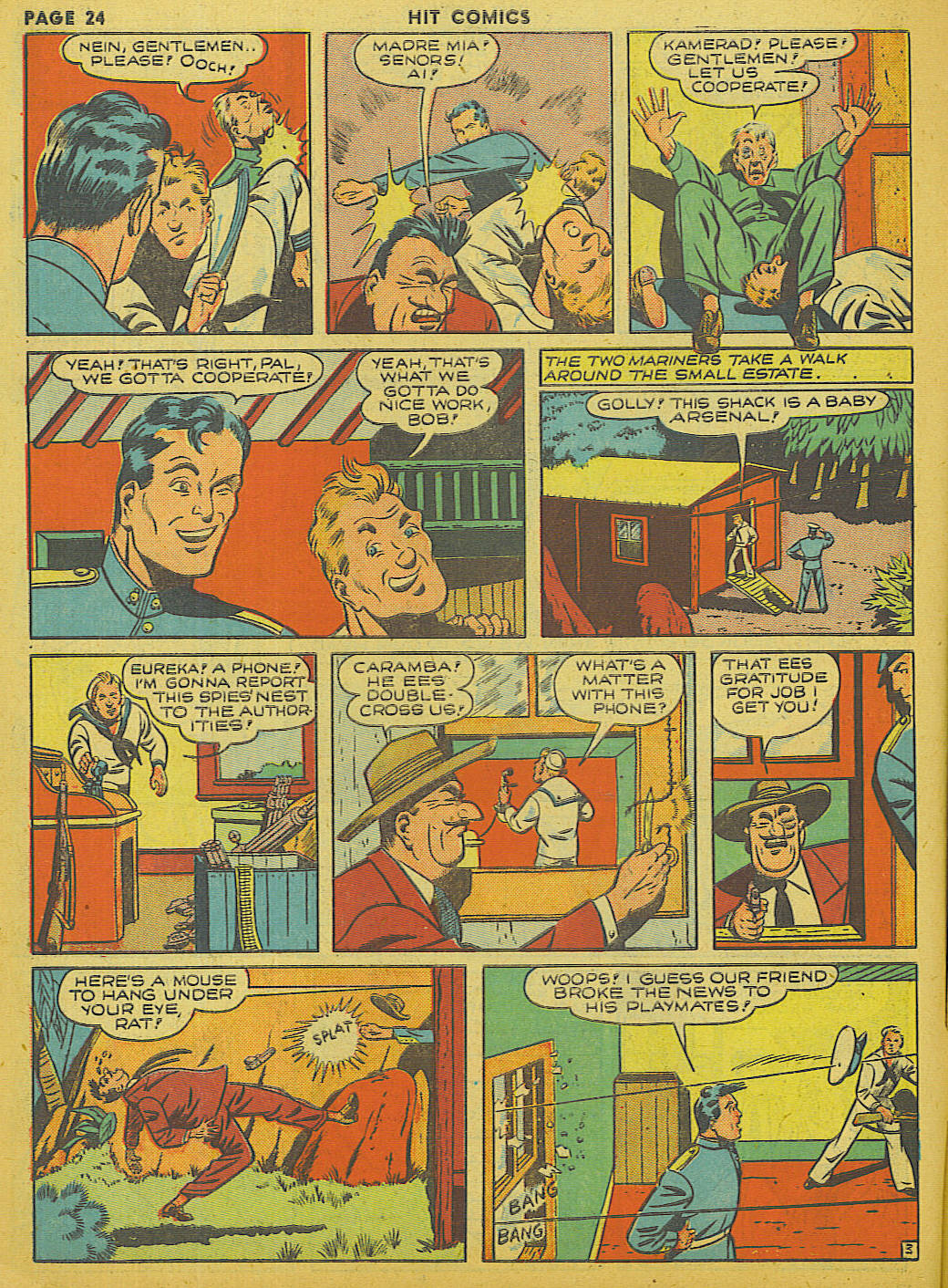 Read online Hit Comics comic -  Issue #13 - 26
