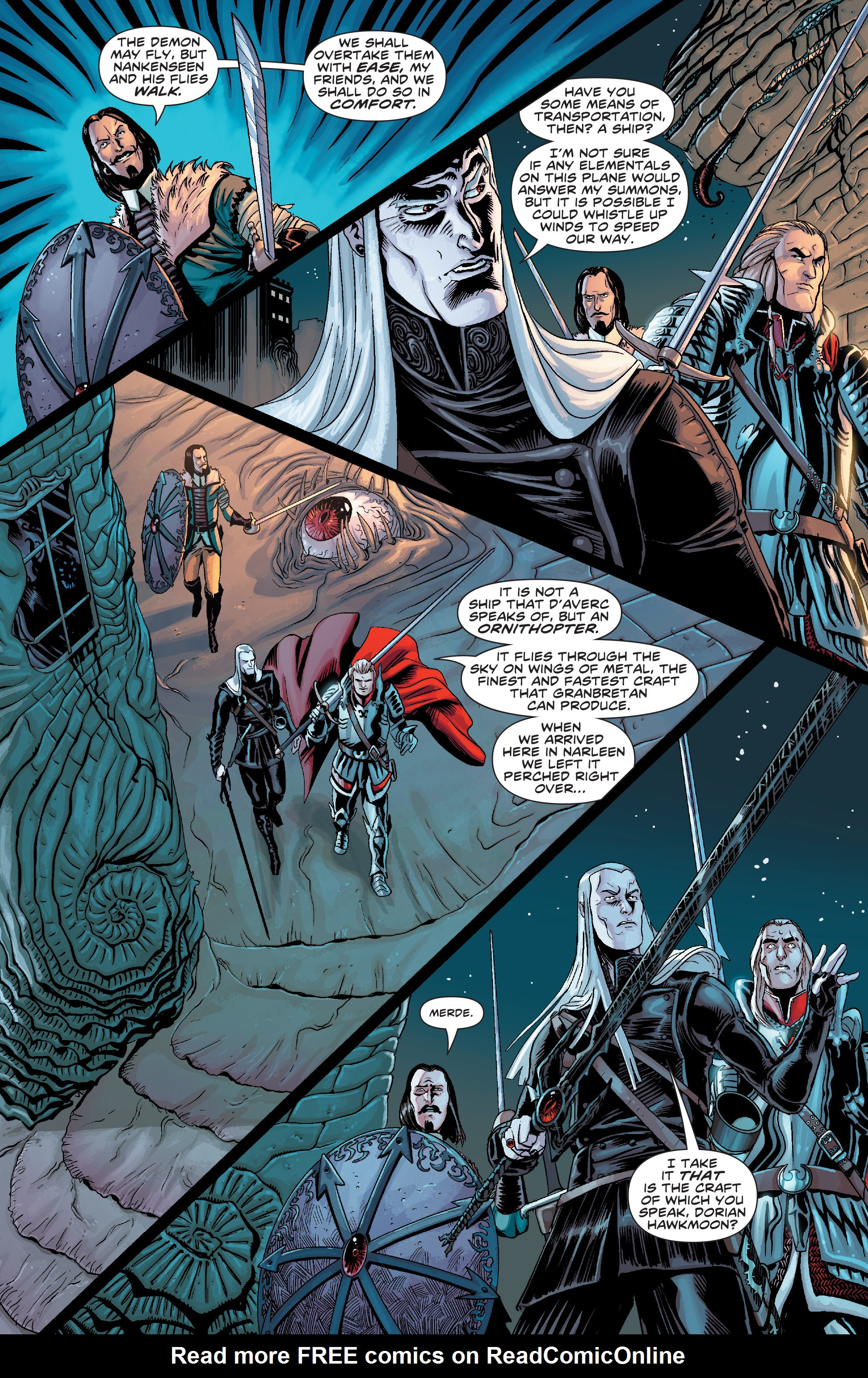 Read online Elric: The Balance Lost comic -  Issue # TPB 2 - 30