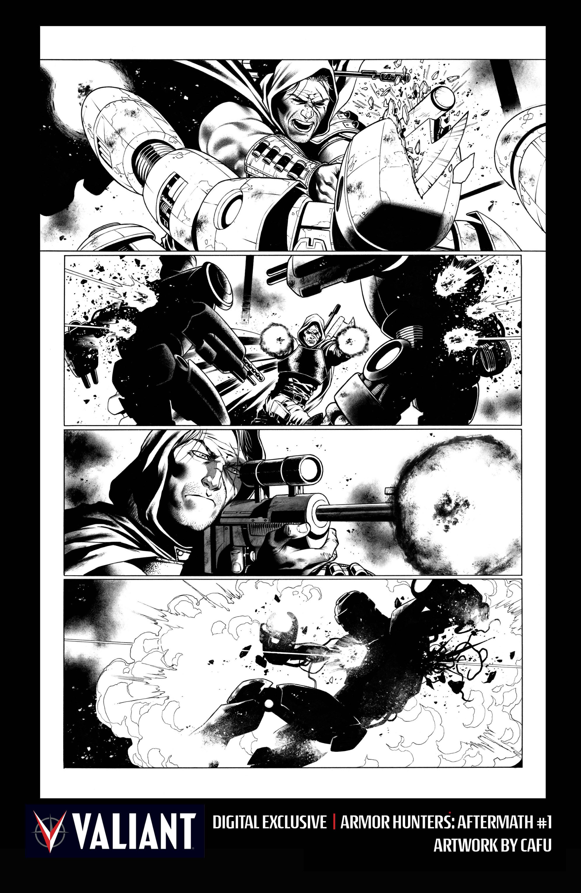 Read online Armor Hunters: Aftermath comic -  Issue # Full - 30