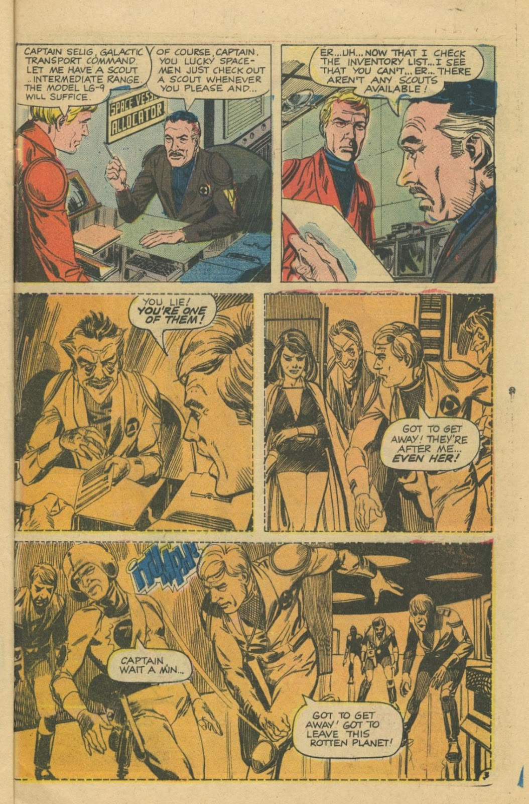 Space Adventures (1968) issue 8 - Page 5