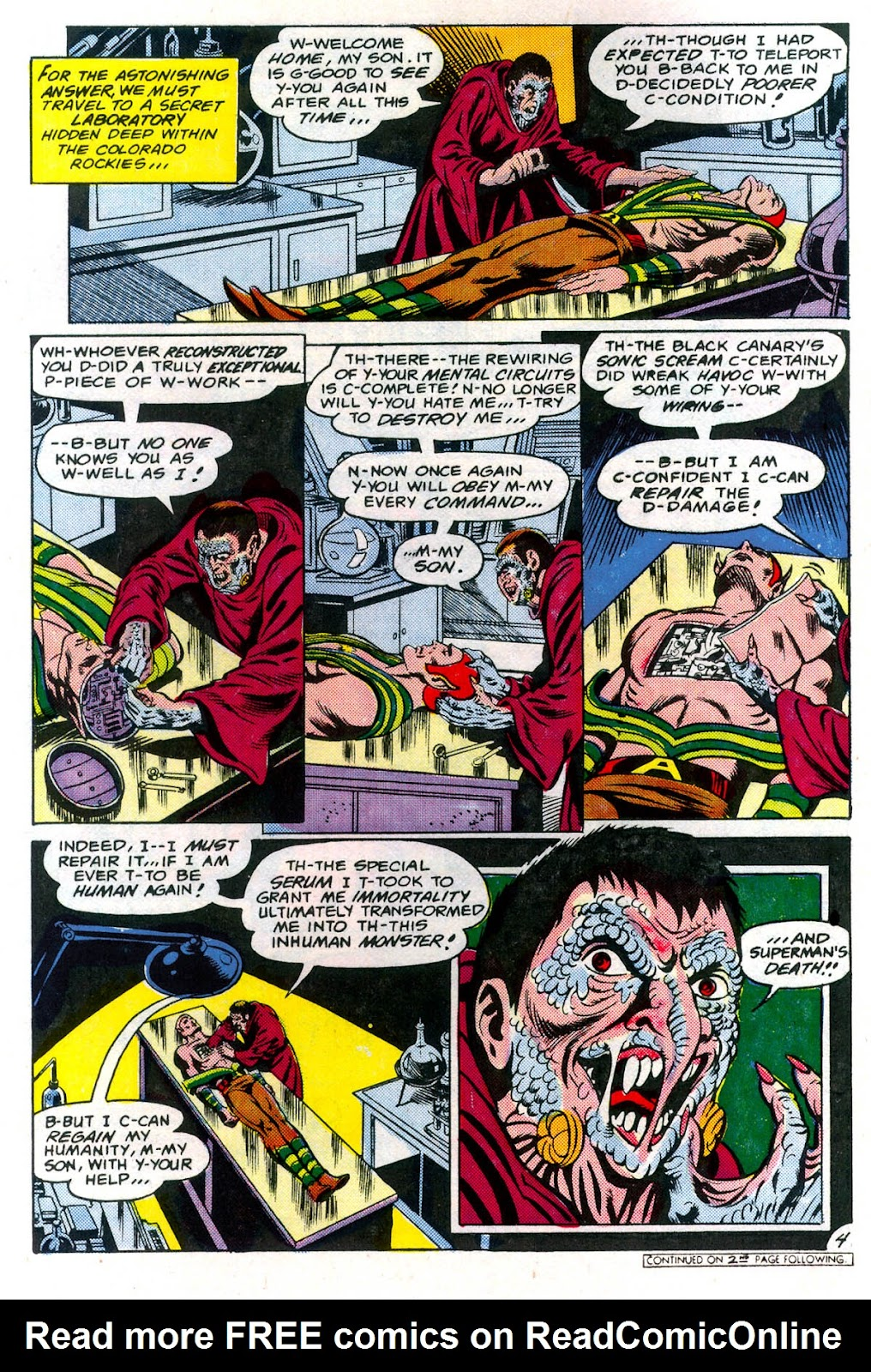 Read online Superman Special (1983) comic -  Issue #3 - 5
