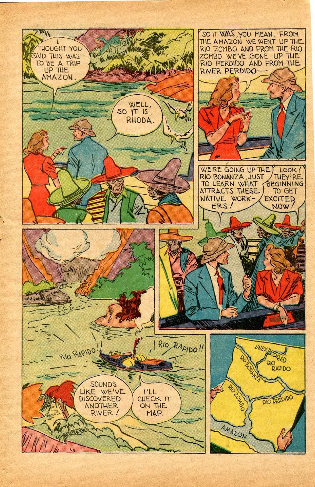 Read online Super-Magician Comics comic -  Issue #33 - 5