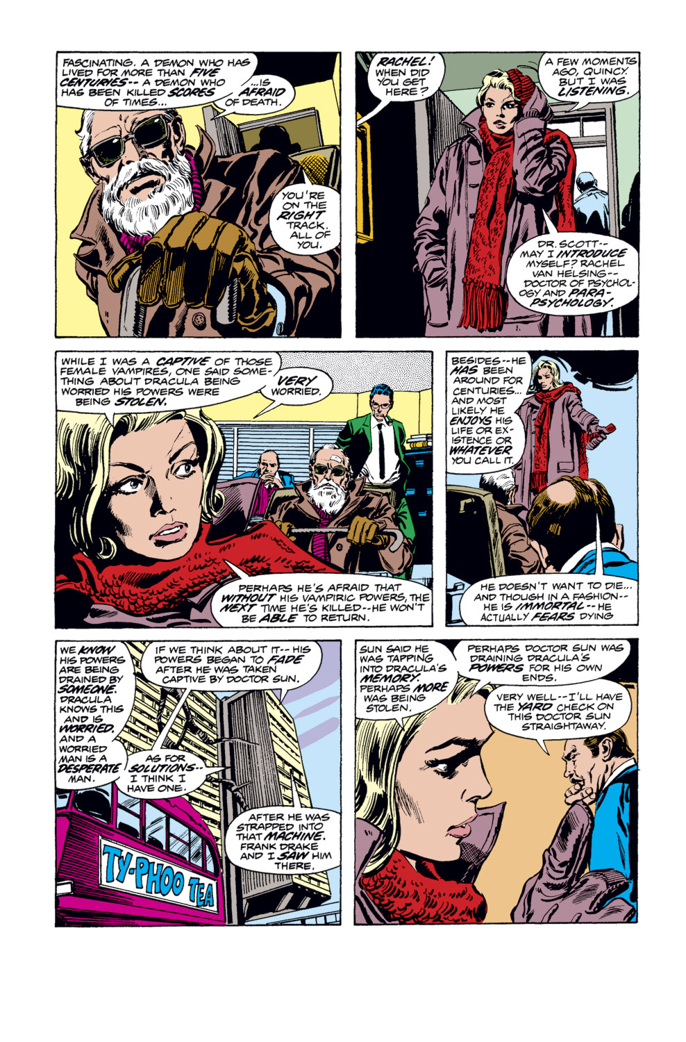 Tomb of Dracula (1972) issue 34 - Page 11