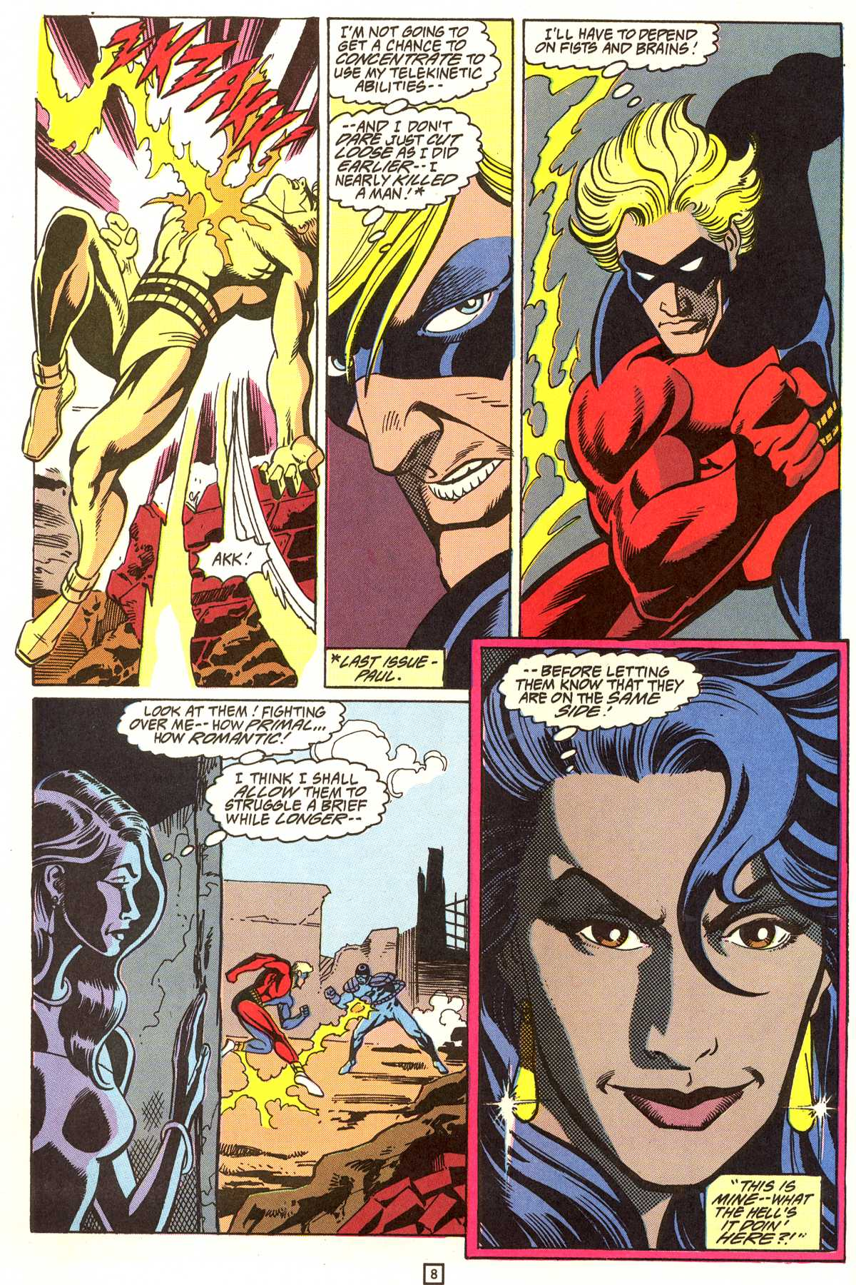 Read online Peter Cannon--Thunderbolt (1992) comic -  Issue #9 - 9