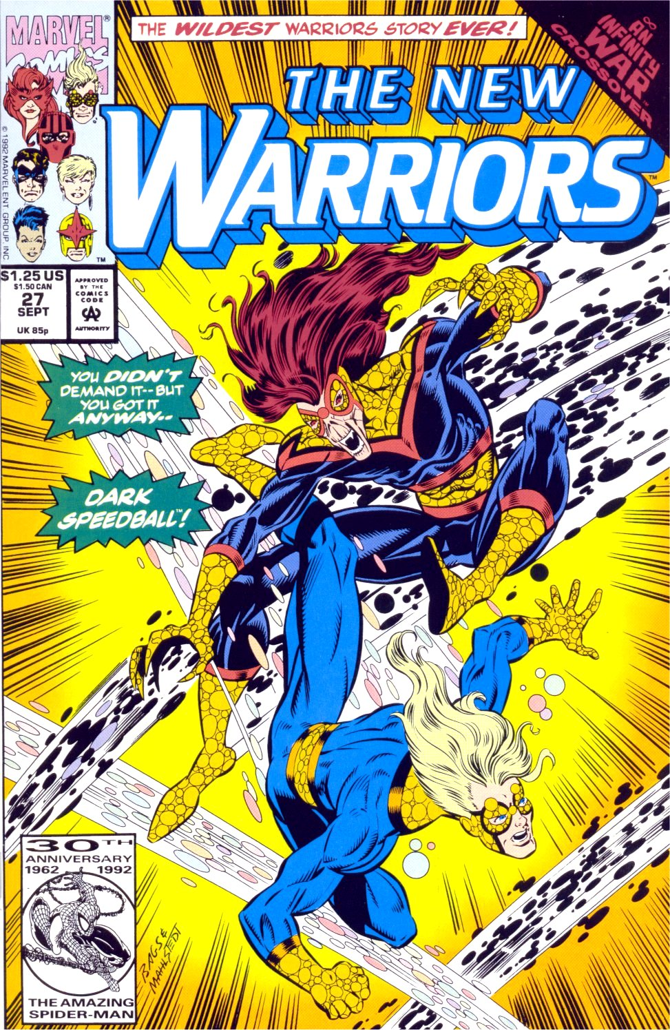 The New Warriors Issue #27 #31 - English 1