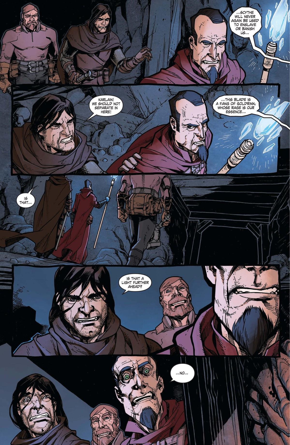 Read online World of Warcraft: Dark Riders comic -  Issue # Full - 67