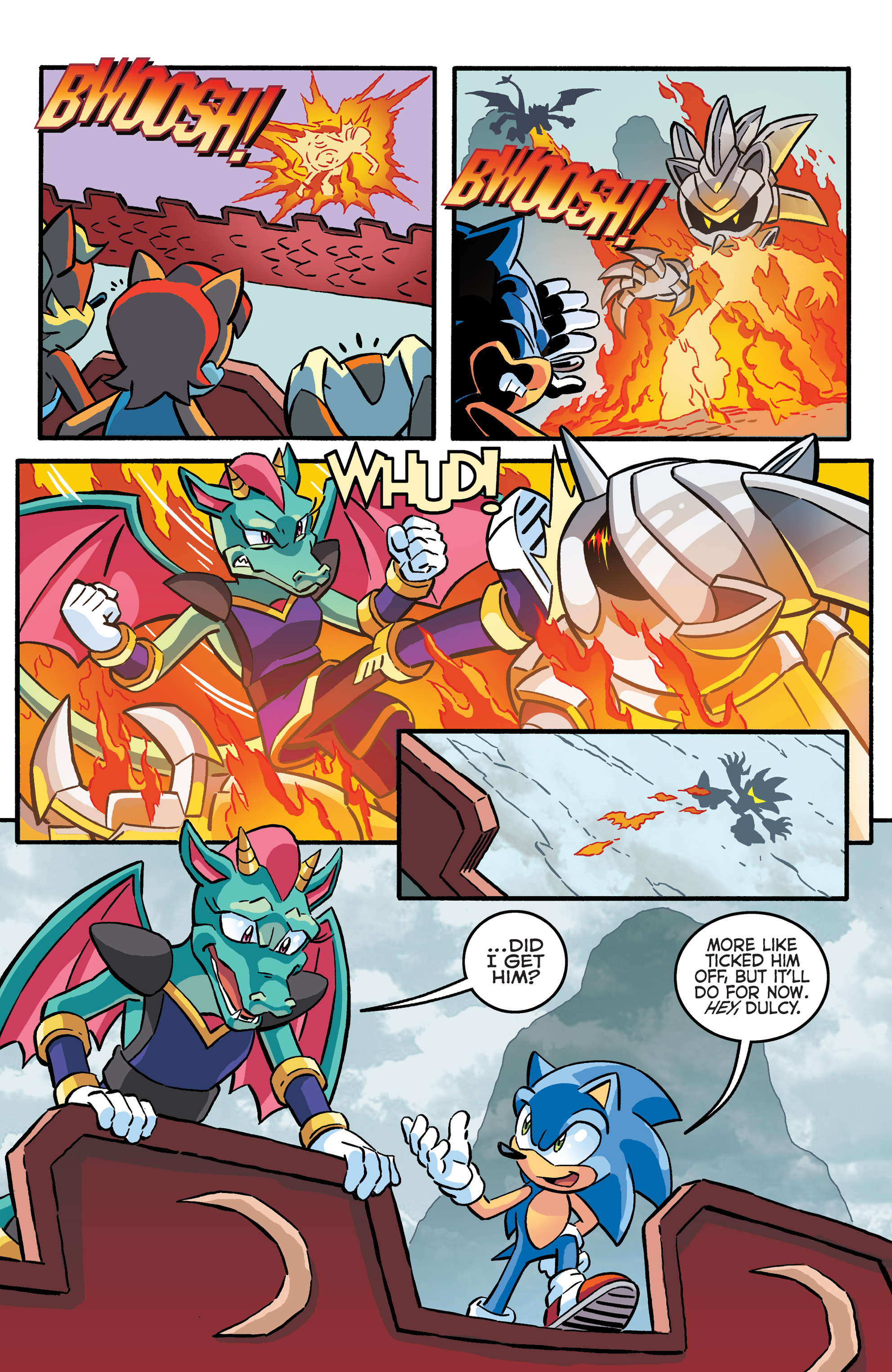 Read online Sonic The Hedgehog comic -  Issue #281 - 5
