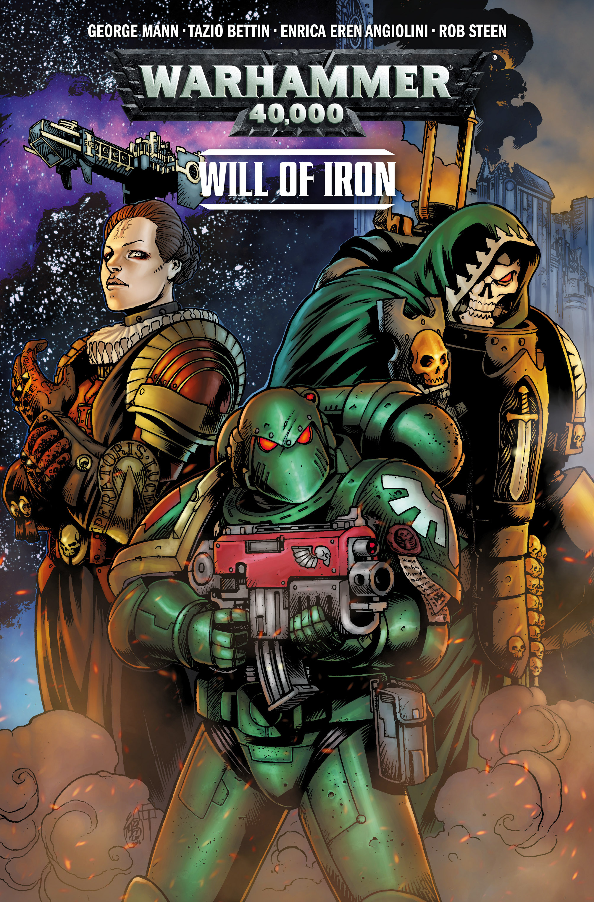 Warhammer 40,000: Will of Iron 1 Page 1