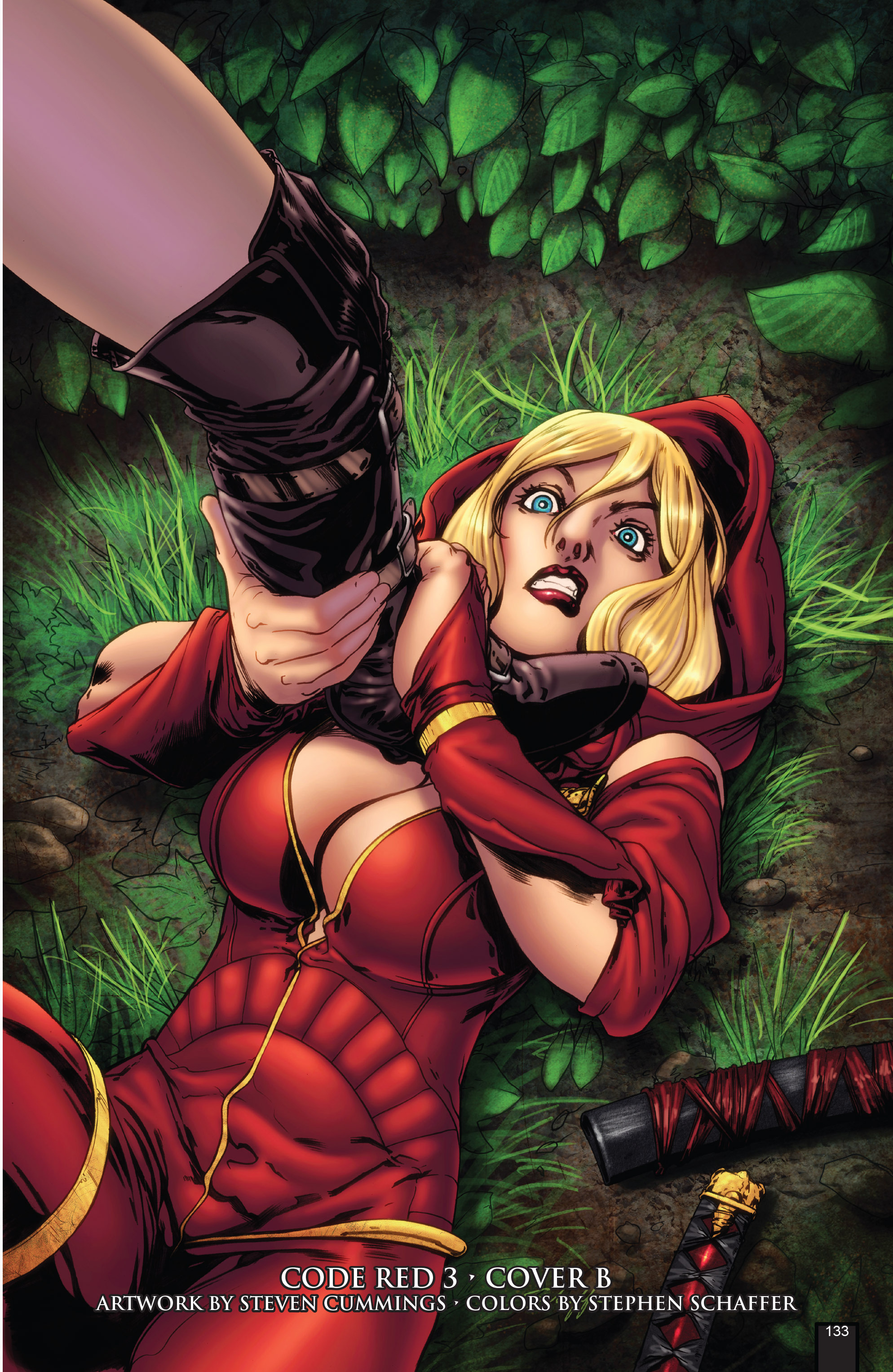 Read online Grimm Fairy Tales presents Code Red comic -  Issue # TPB - 133