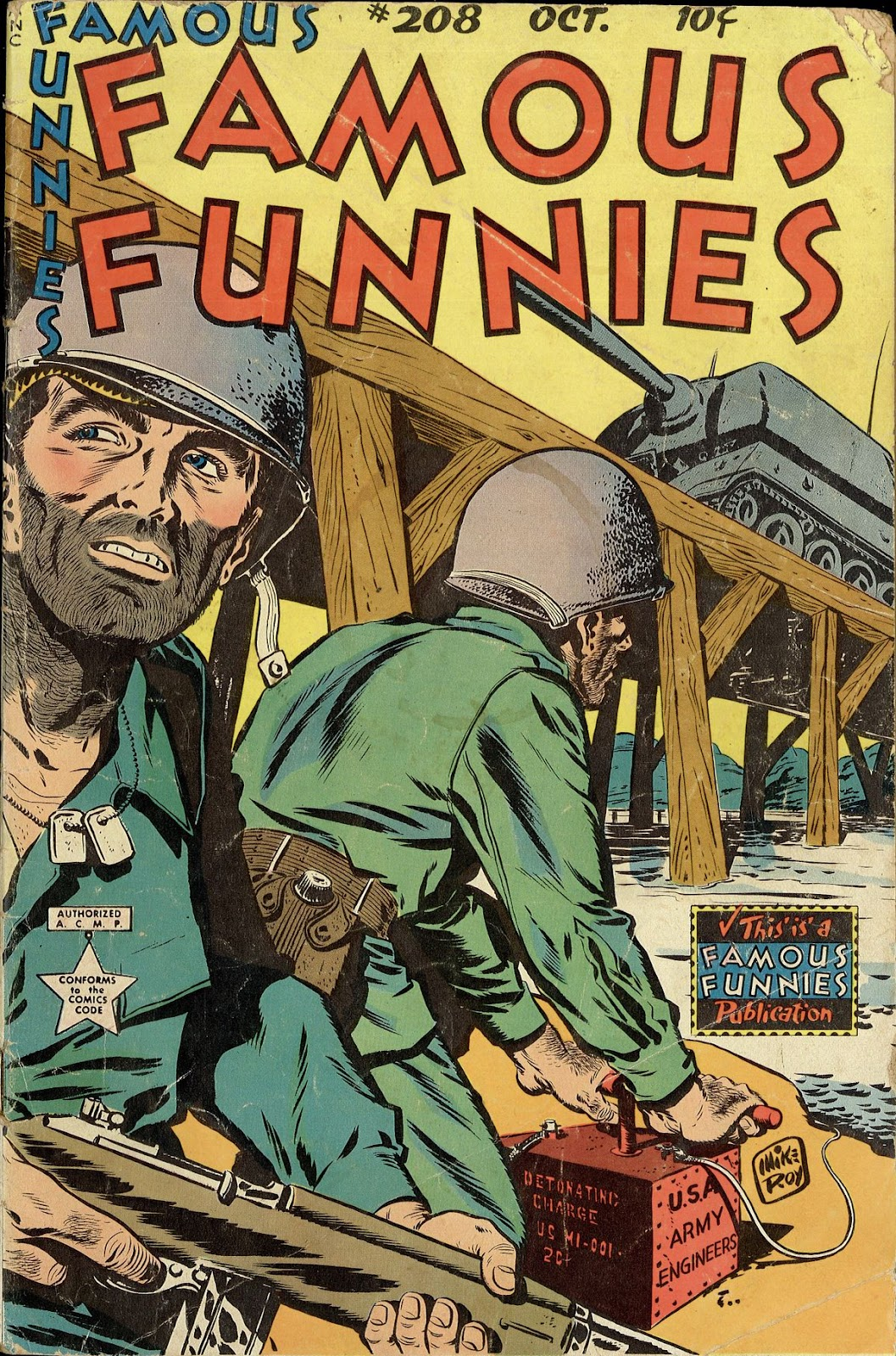 Read online Famous Funnies comic -  Issue #208 - 1