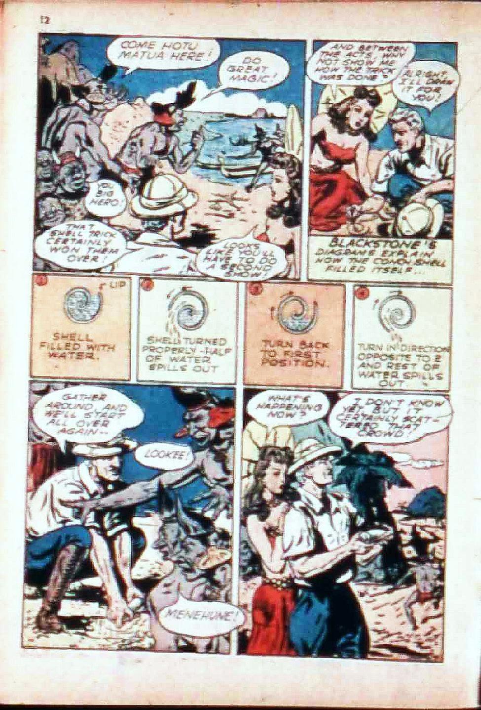 Read online Super-Magician Comics comic -  Issue #17 - 12