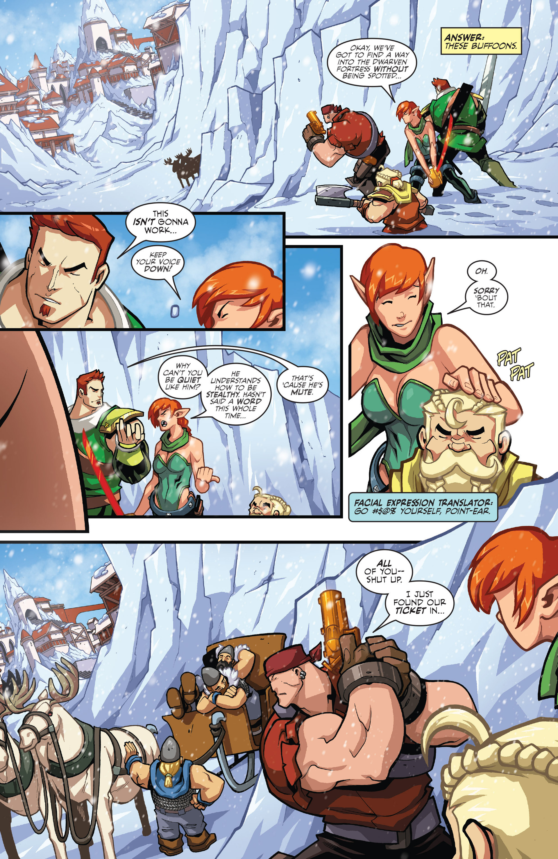 Read online Skullkickers comic -  Issue #26 - 4