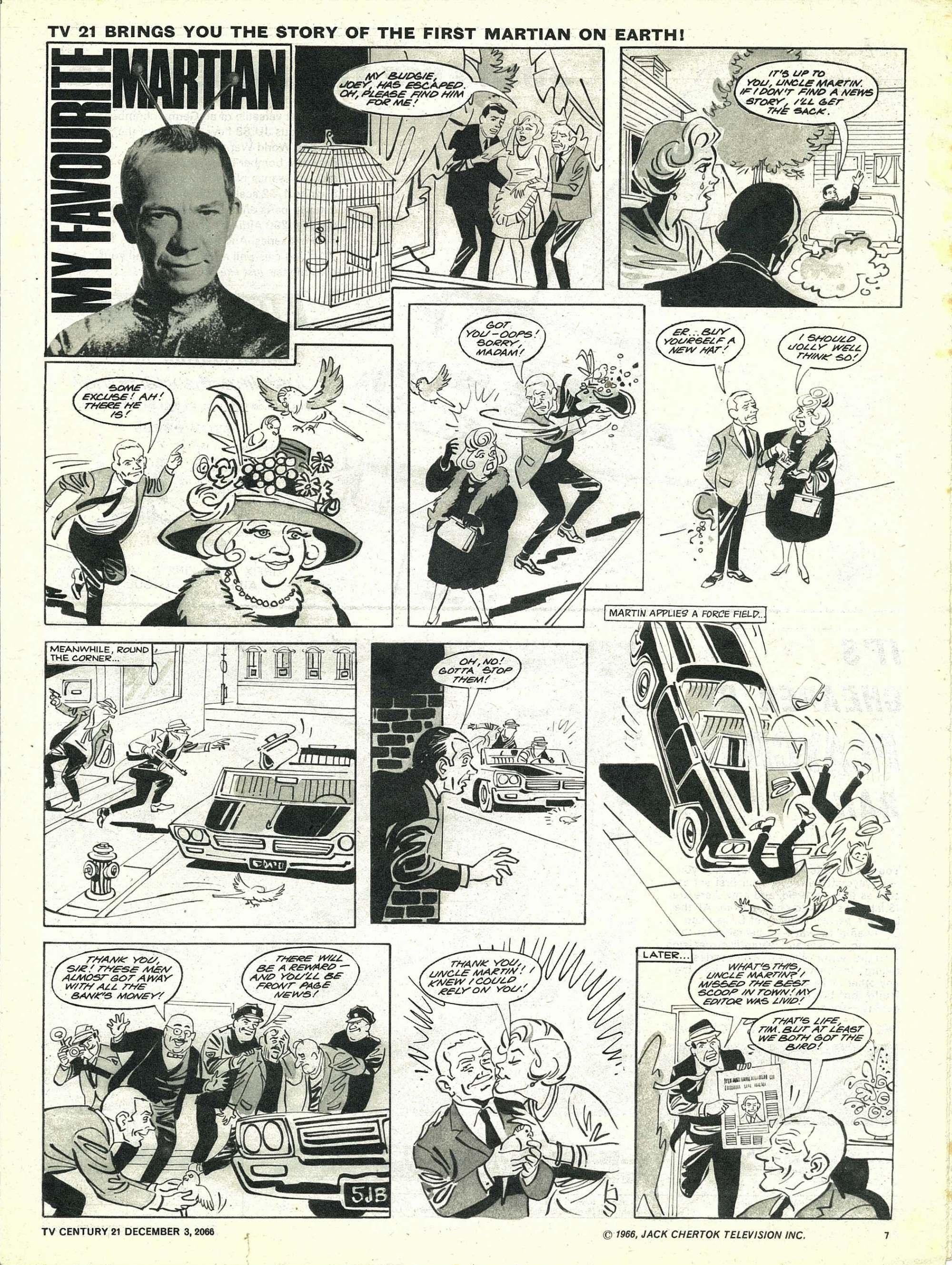Read online TV Century 21 (TV 21) comic -  Issue #98 - 7