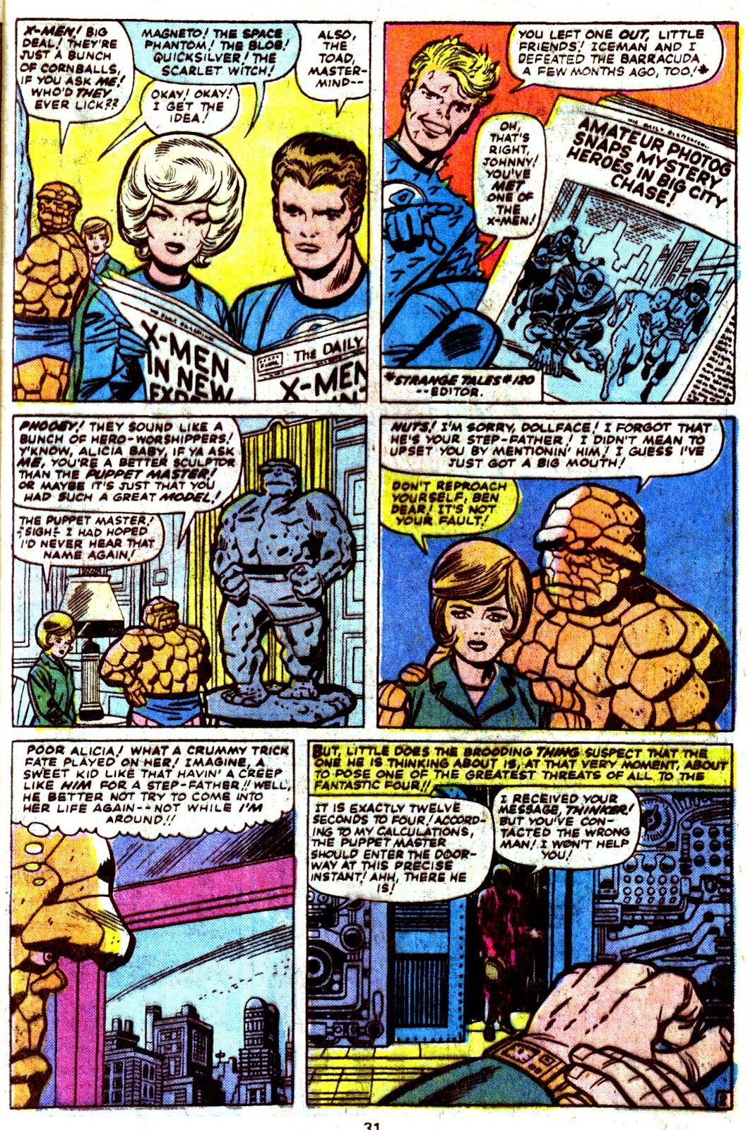 Giant-Size Fantastic Four issue 4 - Page 33