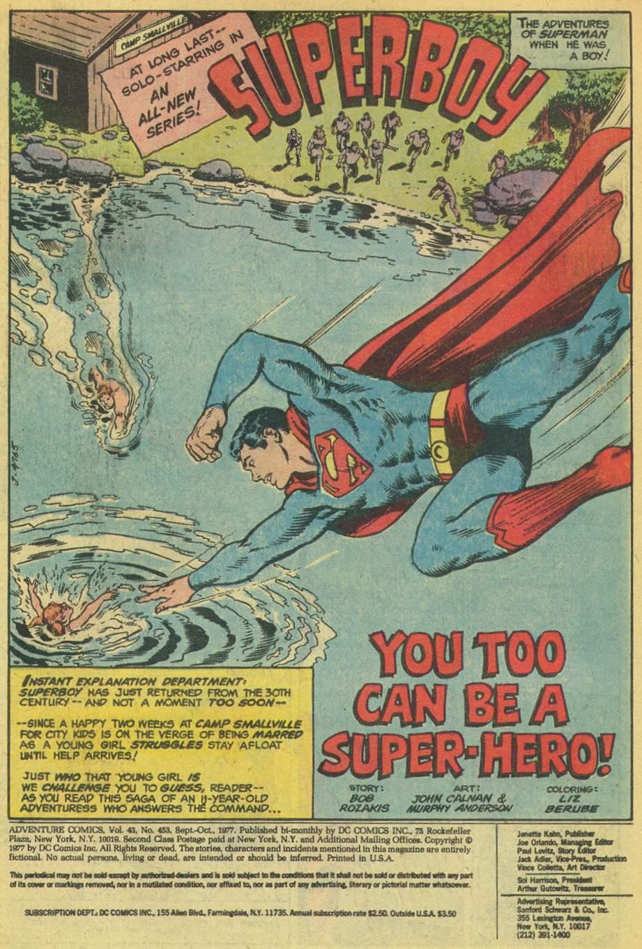 Read online Adventure Comics (1938) comic -  Issue #453 - 3
