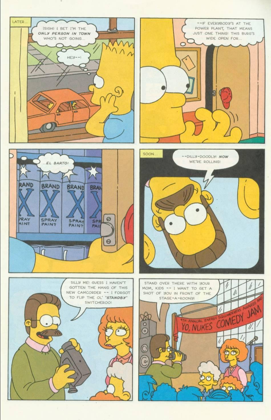Read online Simpsons Comics comic -  Issue #5 - 4