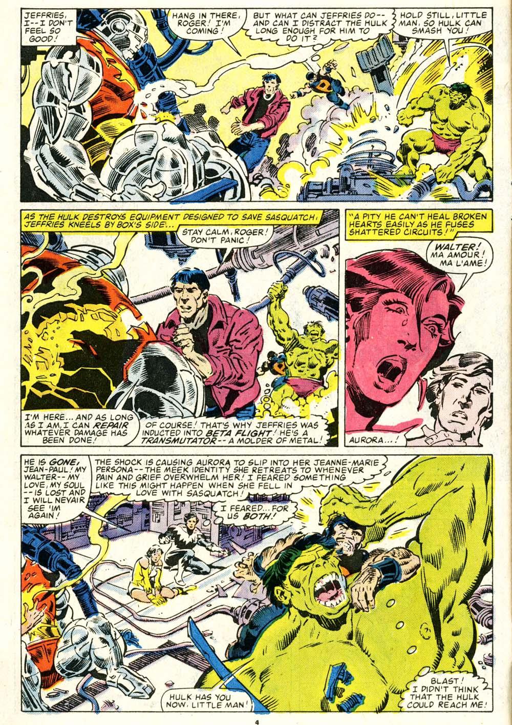 Read online Alpha Flight (1983) comic -  Issue #29 - 4