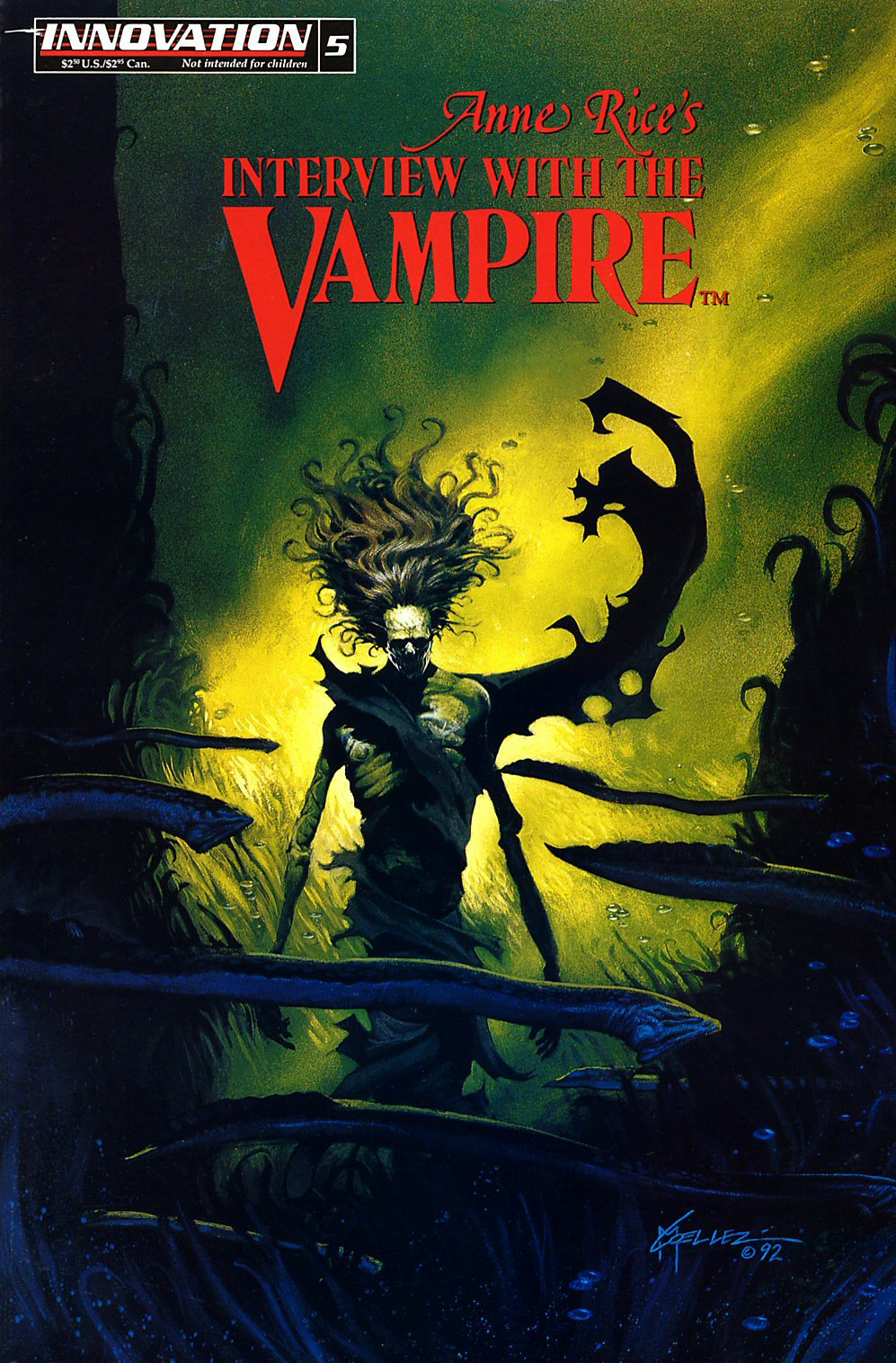 Read online Anne Rice's Interview with the Vampire comic -  Issue #5 - 1