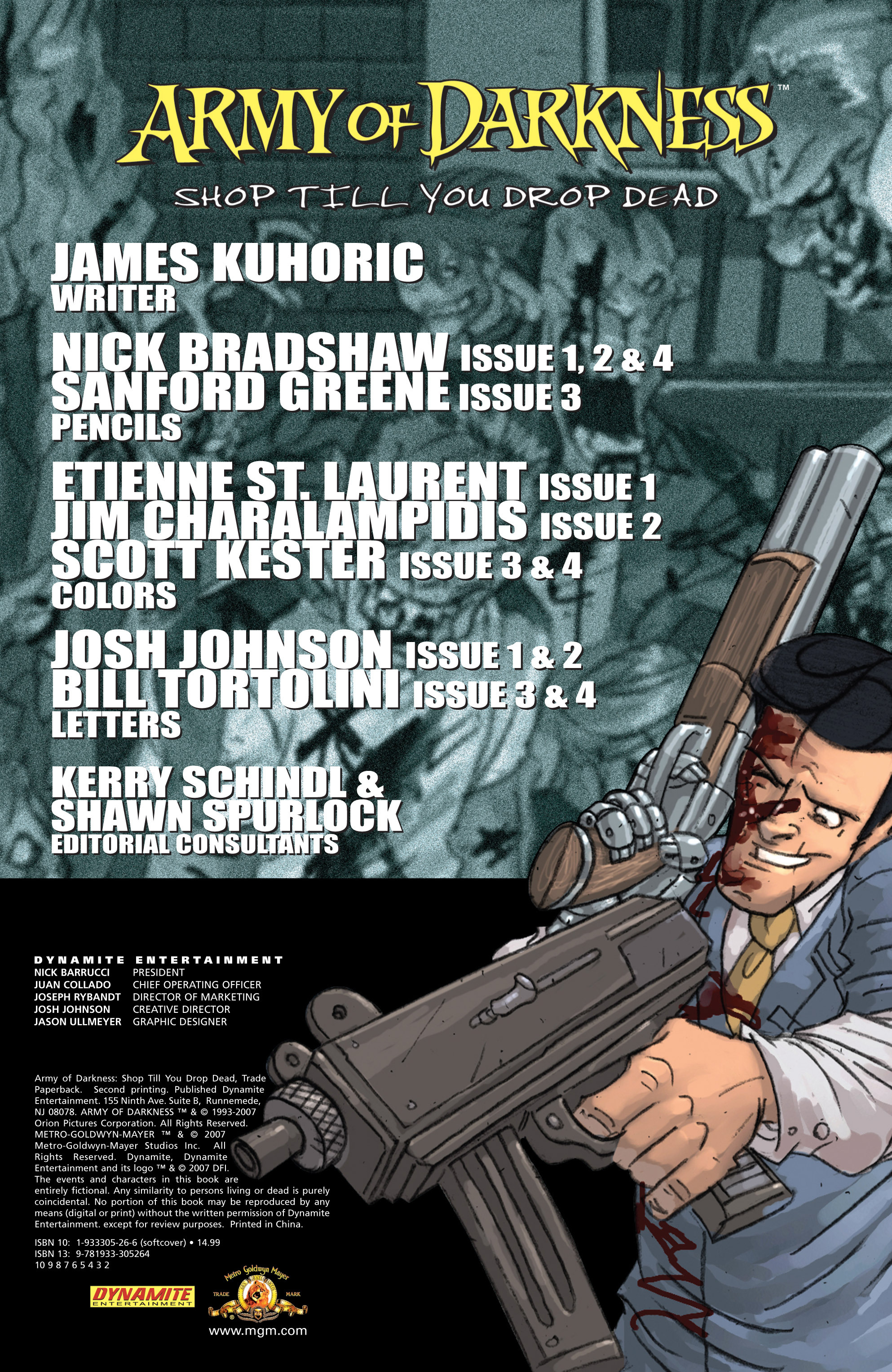 Read online Army of Darkness: Shop Till You Drop Dead comic -  Issue #Army of Darkness: Shop Till You Drop Dead TPB - 4