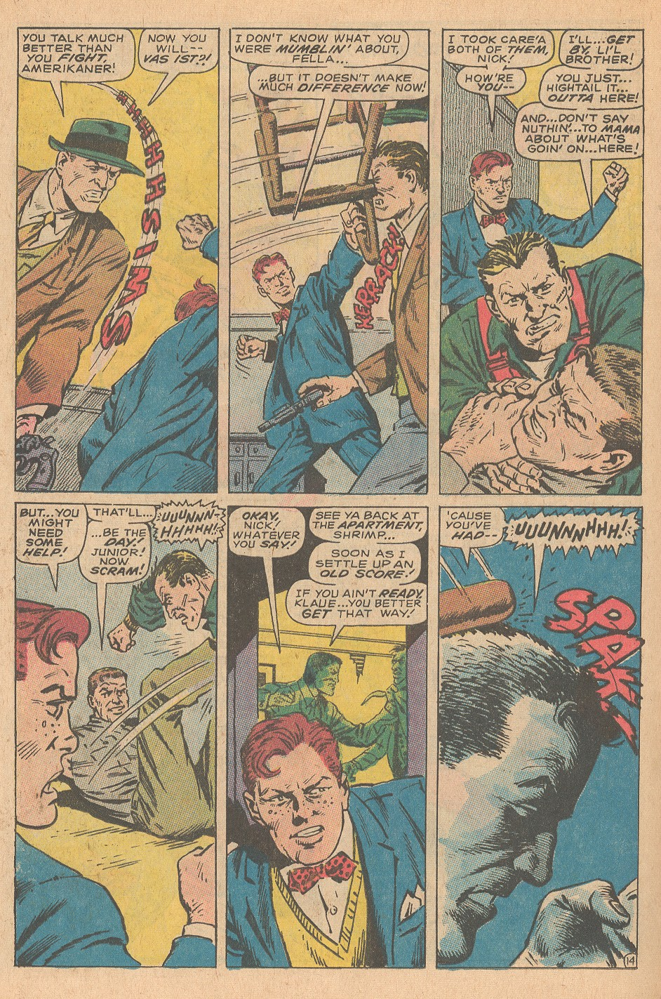 Read online Sgt. Fury comic -  Issue #68 - 20
