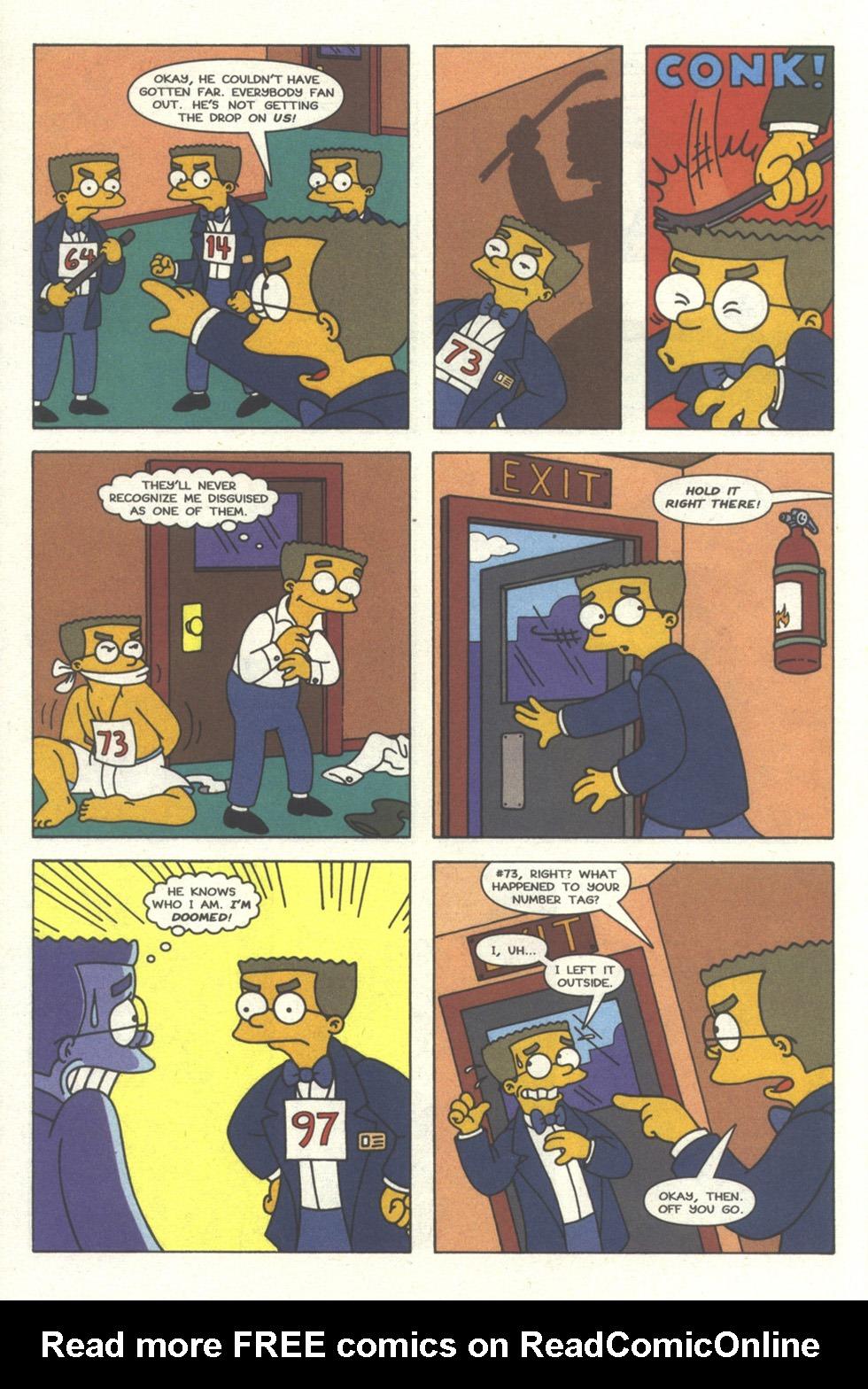 Read online Simpsons Comics comic -  Issue #30 - 11