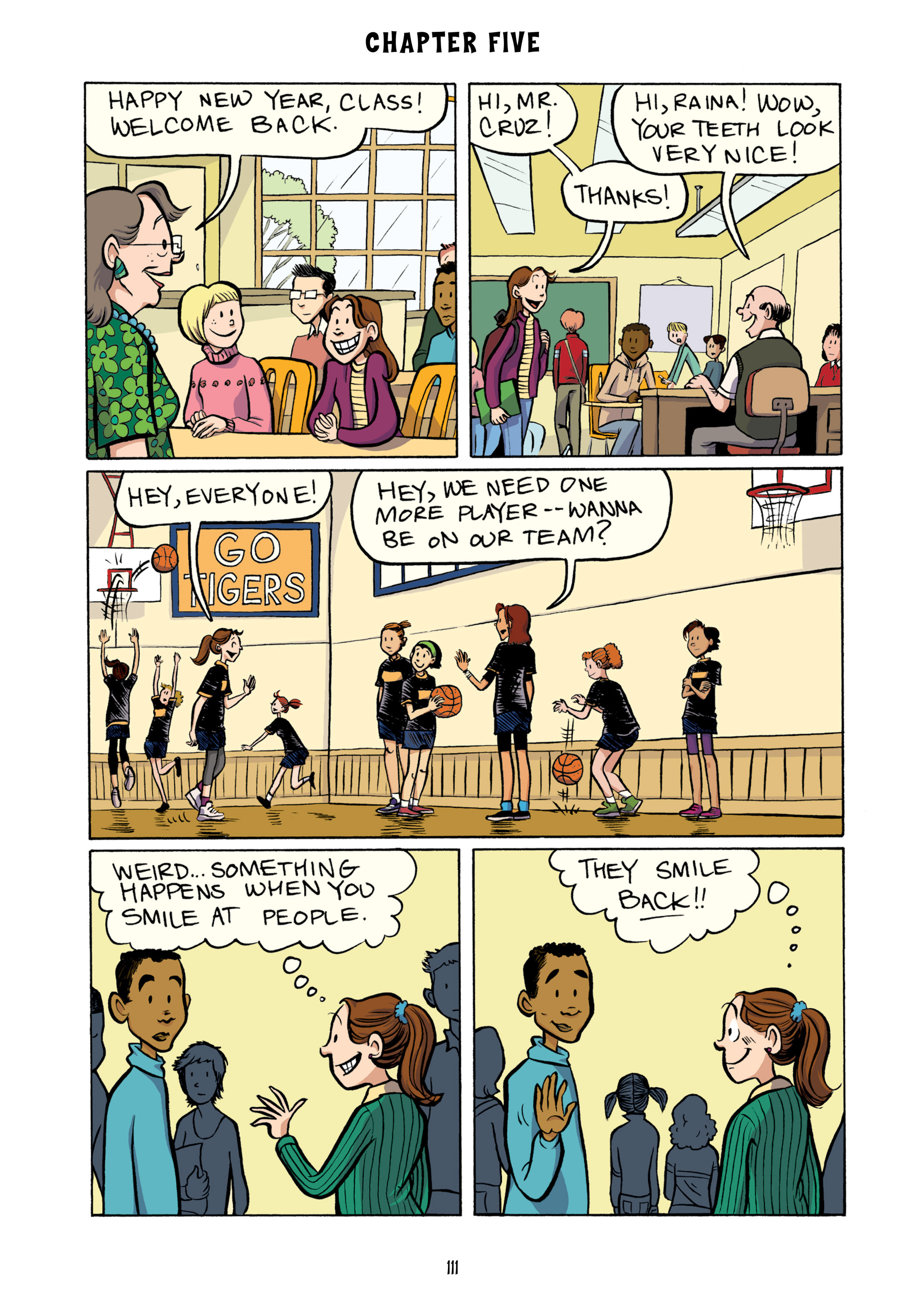 Read online Smile comic -  Issue # TPB - 117