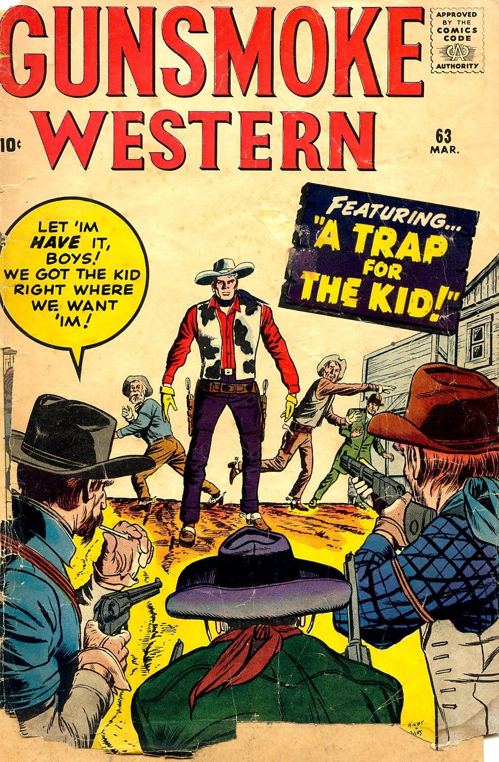 Gunsmoke Western 63 Page 1