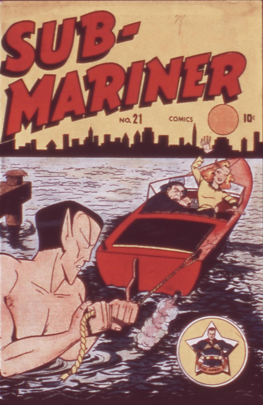 Sub-Mariner Comics 21 Page 1