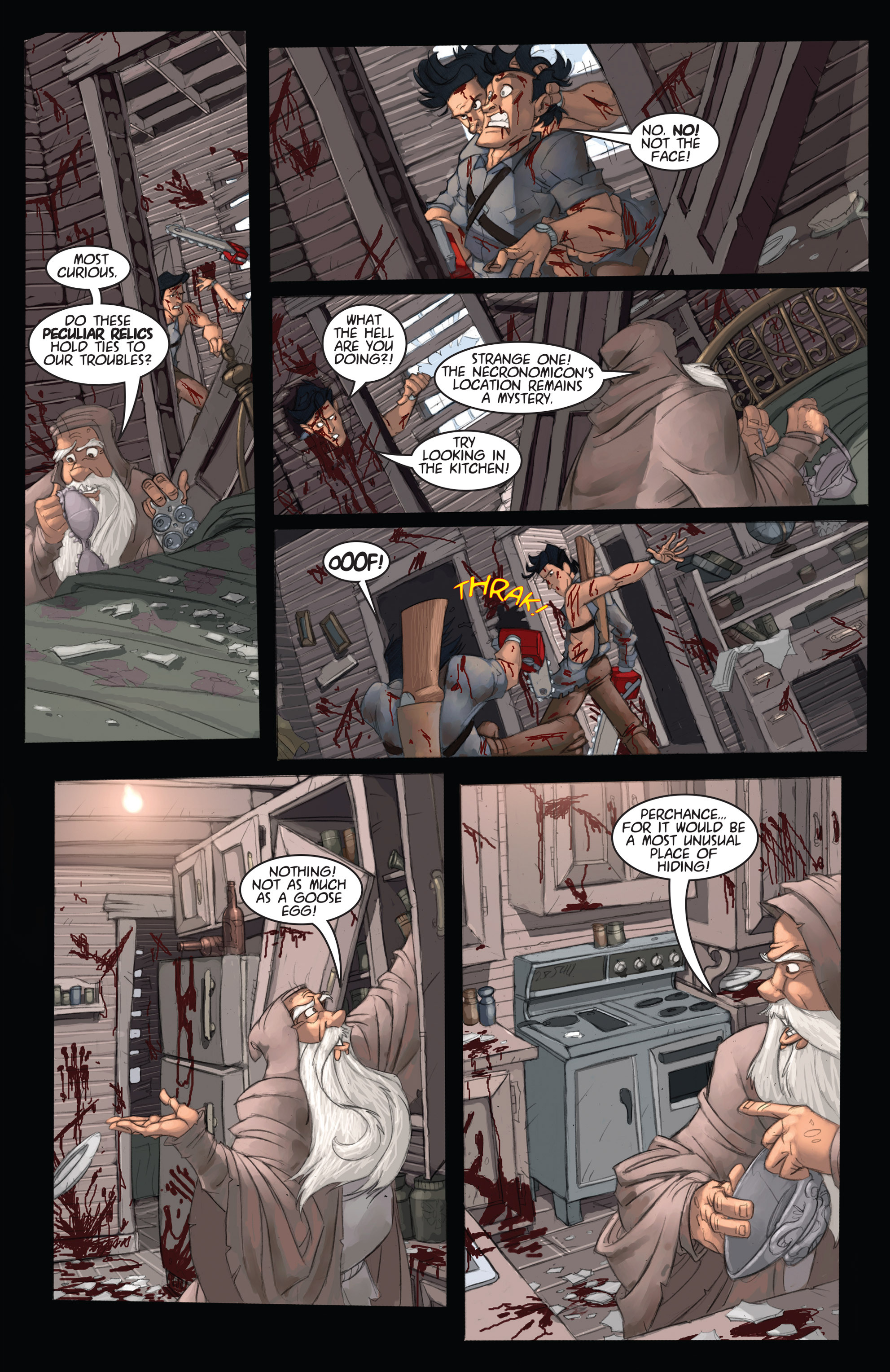Read online Army of Darkness: Ashes 2 Ashes comic -  Issue #2 - 17