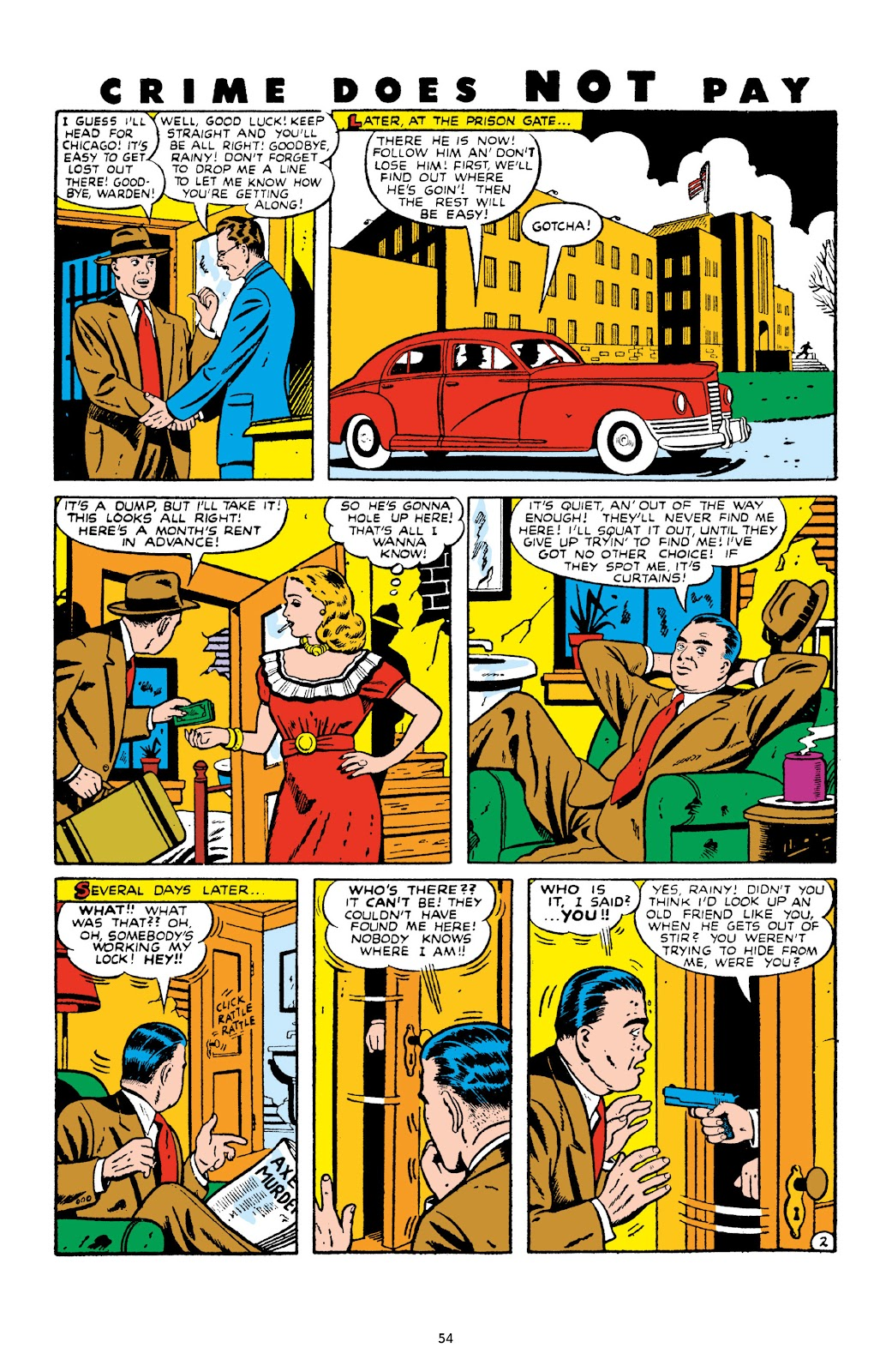 Read online Crime Does Not Pay Archives comic -  Issue # TPB 10 (Part 1) - 56