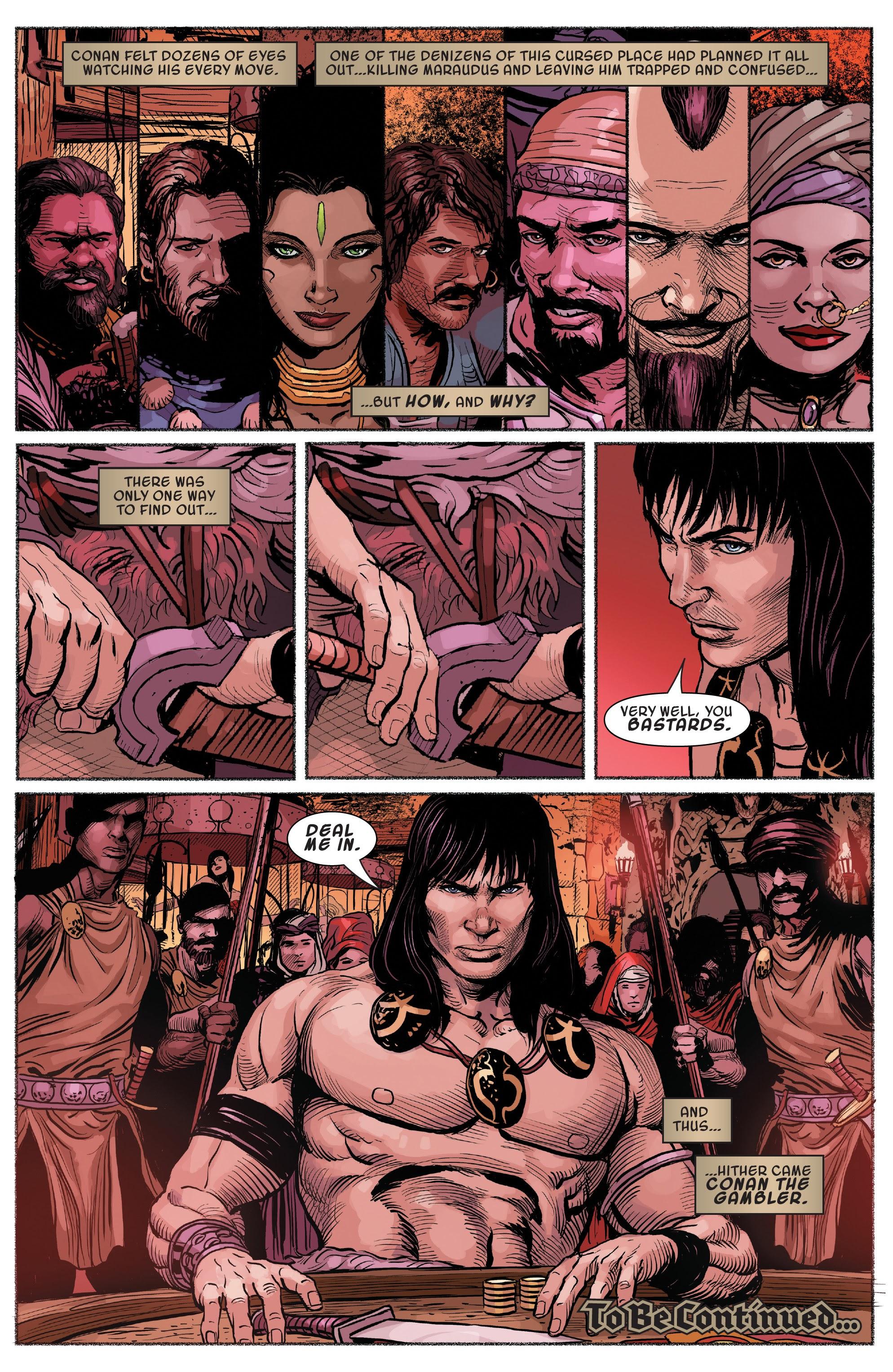 Read online Savage Sword of Conan comic -  Issue #7 - 22
