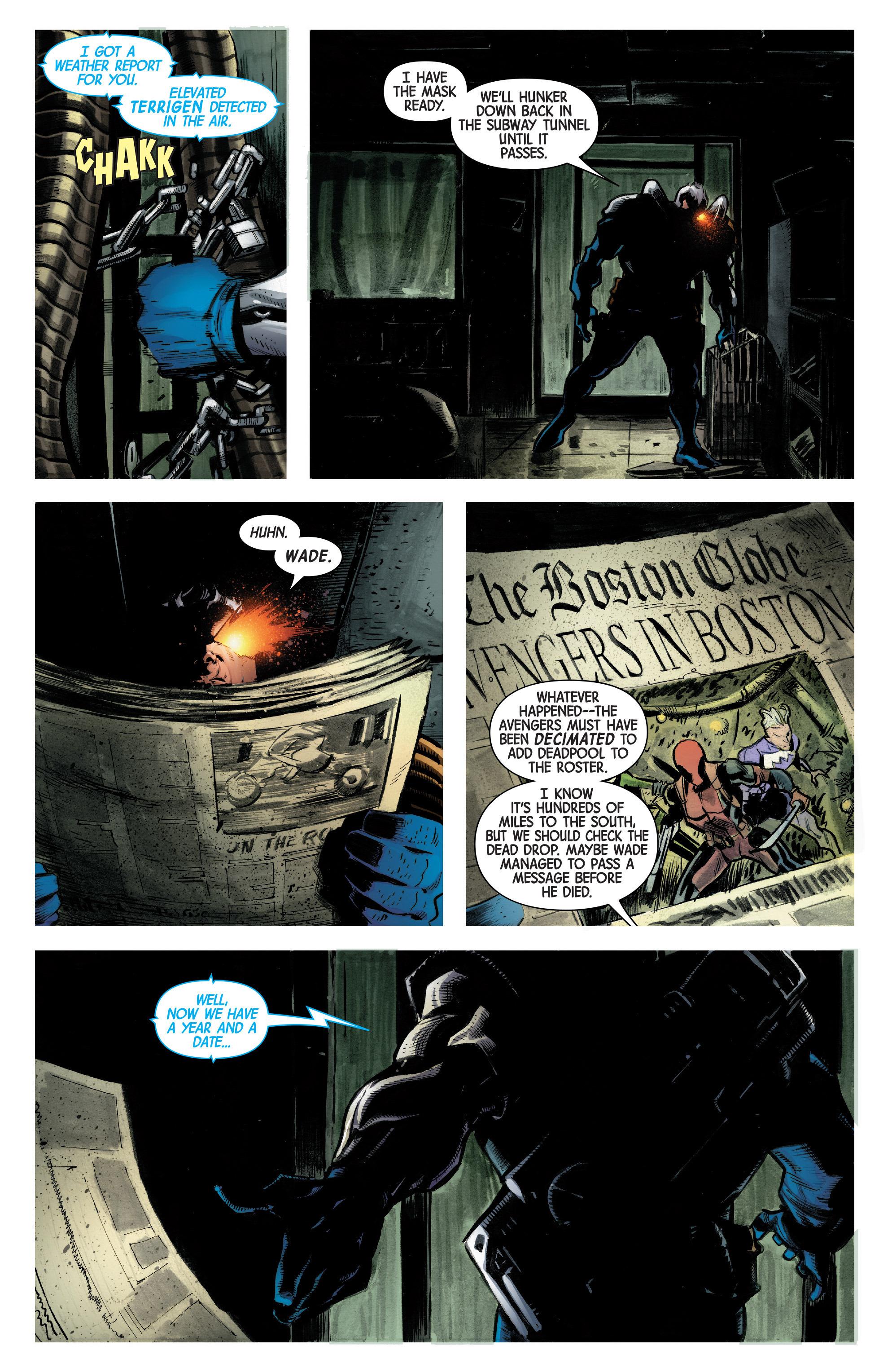 Read online Uncanny Avengers [II] comic -  Issue #2 - 21