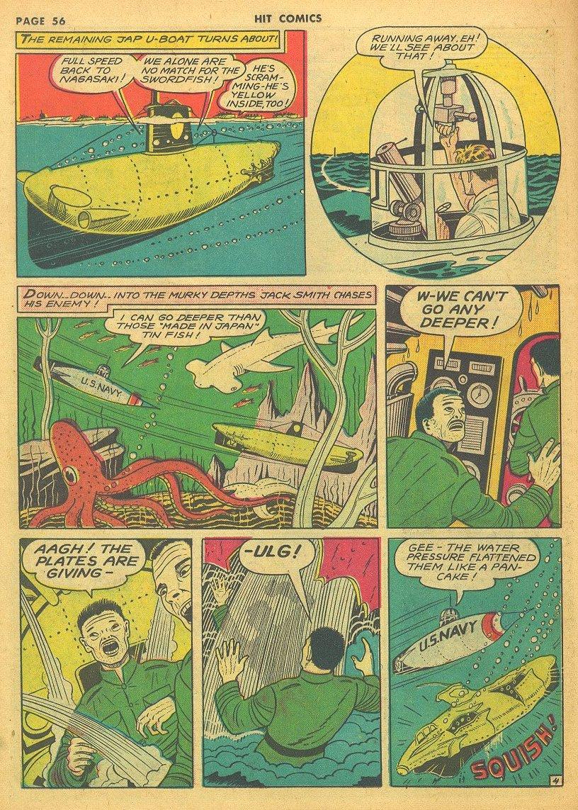 Read online Hit Comics comic -  Issue #24 - 58